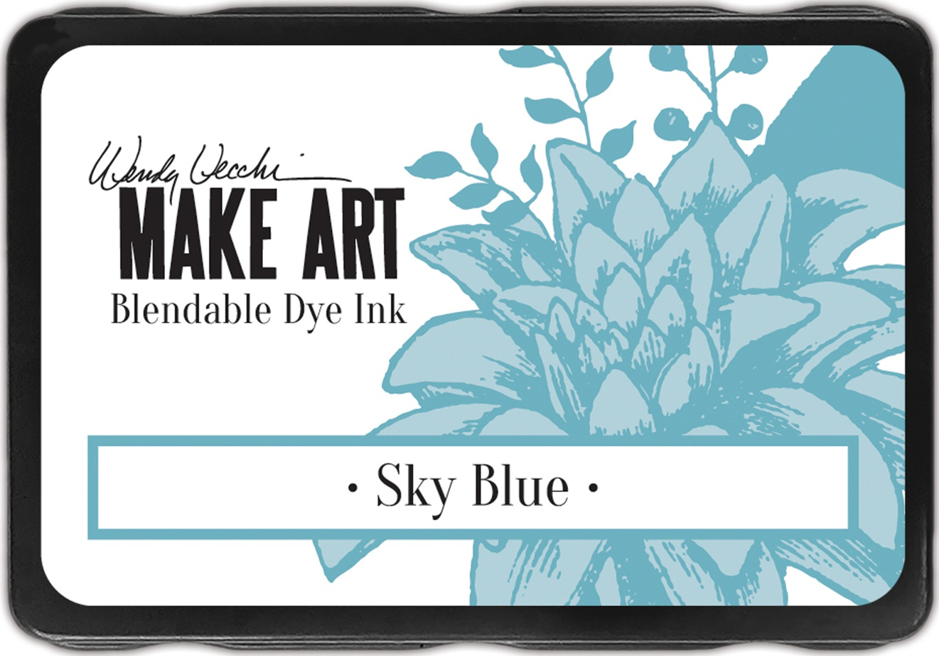 Wendy Vecchi Make Art Dye Ink Pads-Sky Blue