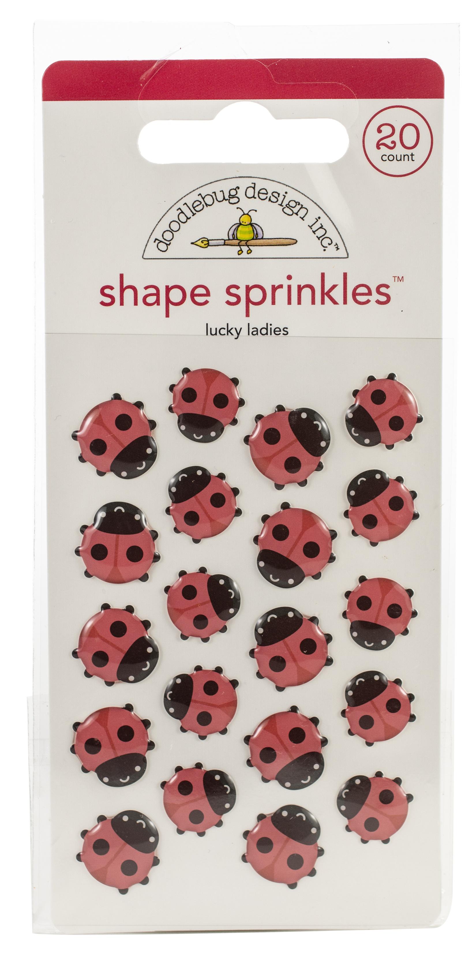 lucky ladies shape sprinkles