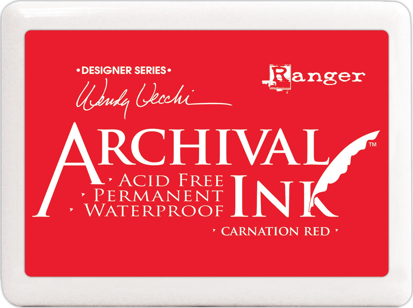 Archival Ink Lg - Carnation Re