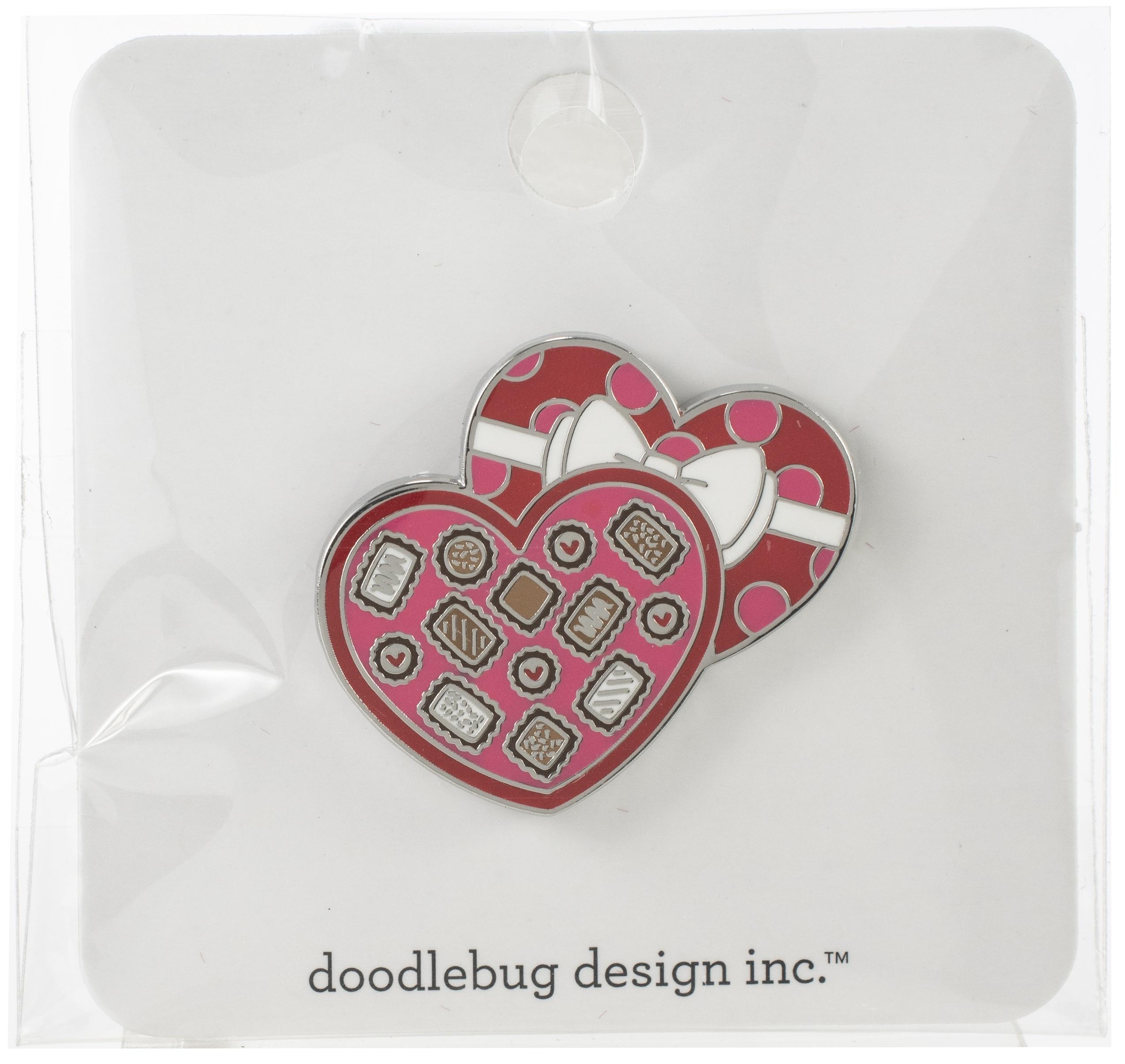 Chocolate Box Enamel pin