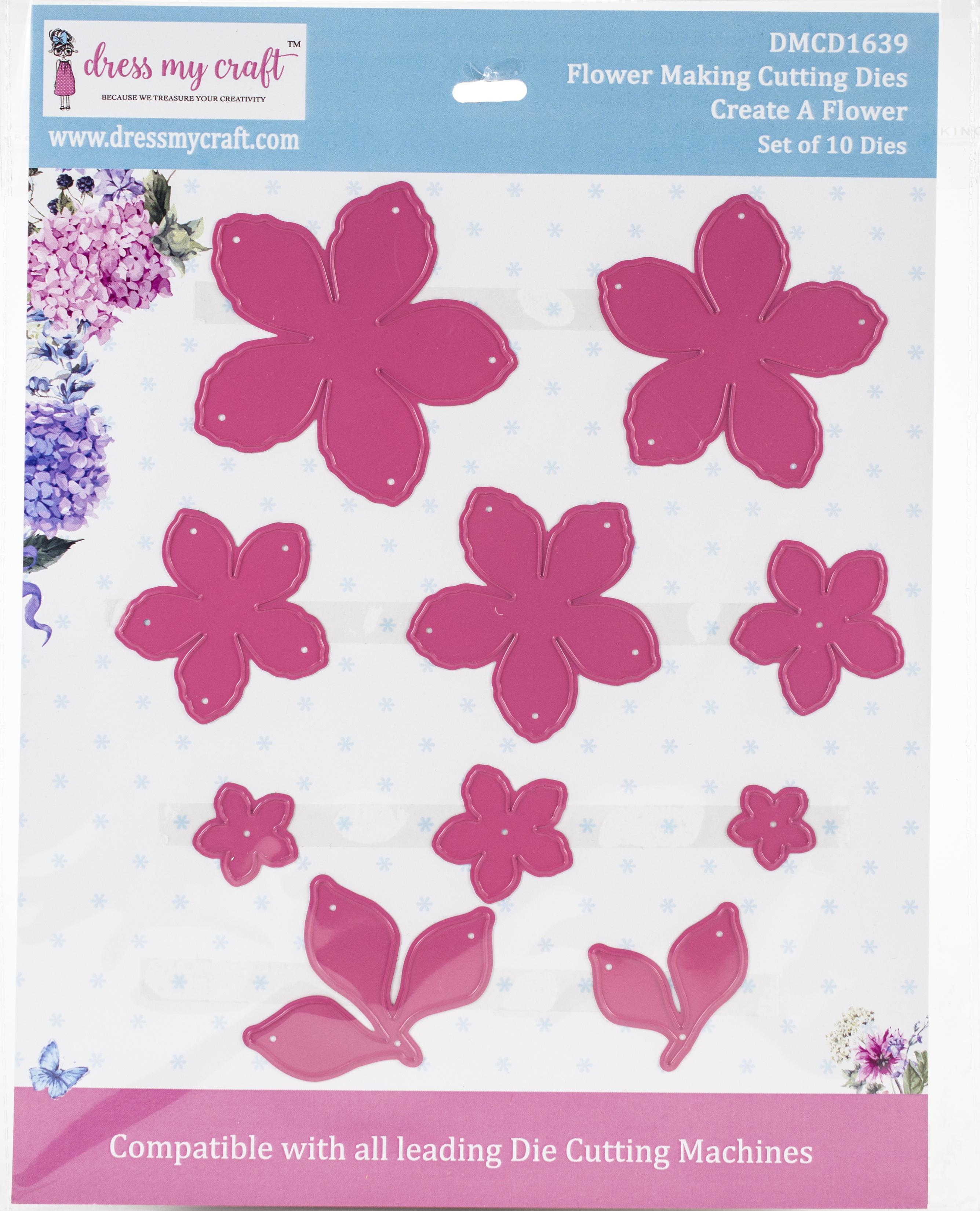 Dress My Craft Dies-Create A Flower .67 To 2.55