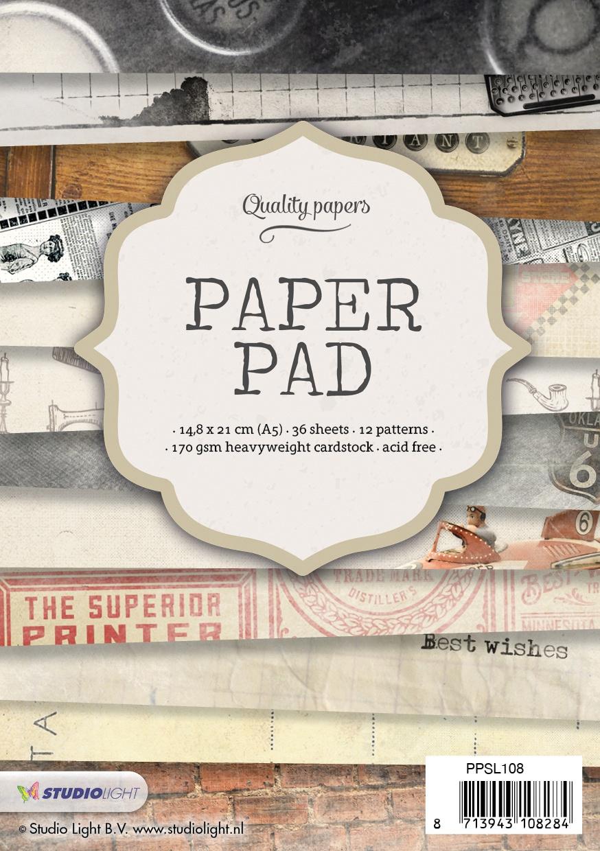 Studio Light Paper Pad A5 NR. 108