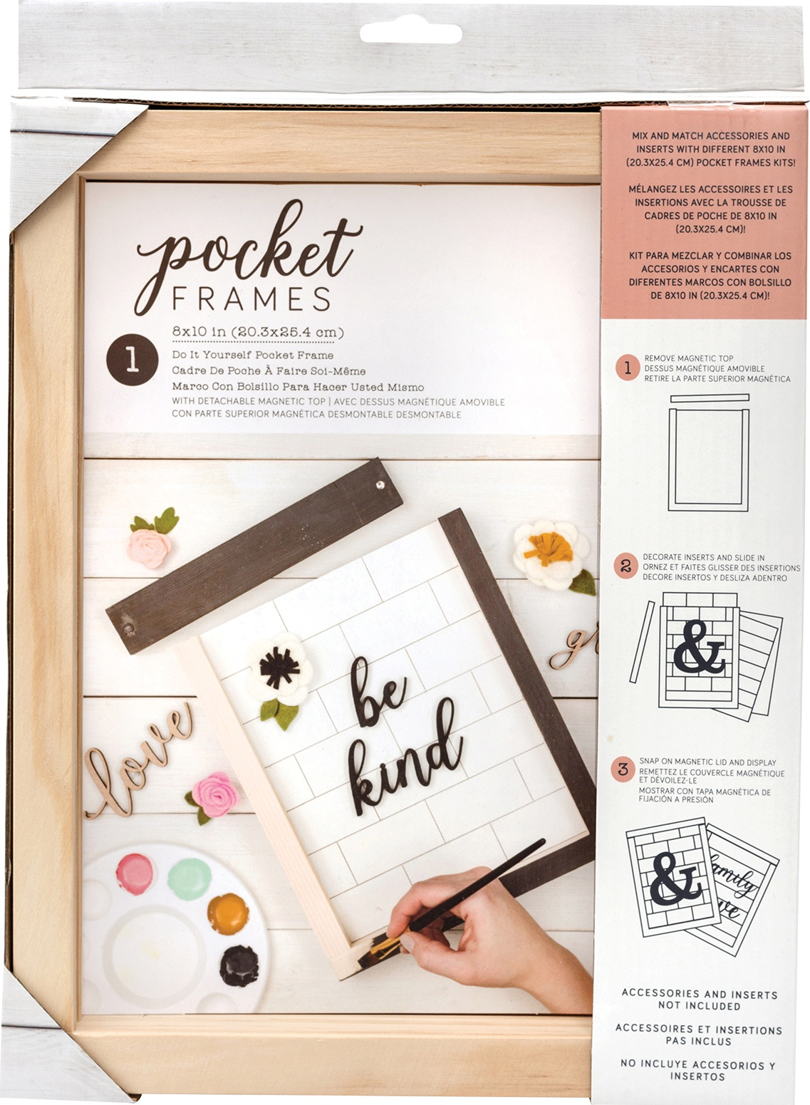 American Crafts Pocket Frames 8X10-Do-It-Yourself