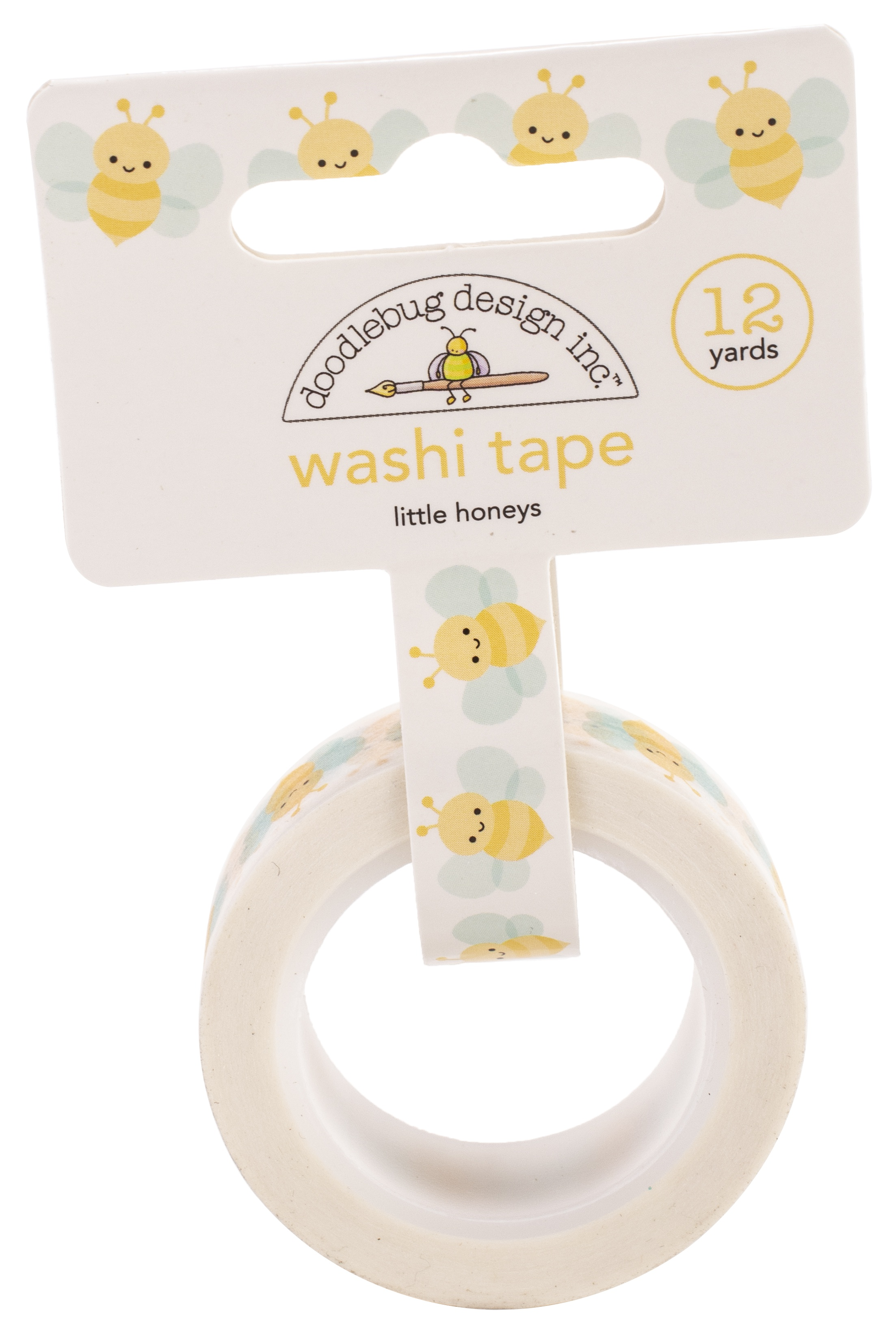 Doodlebug Washi Tape 15mmx12yd-Little Honeys