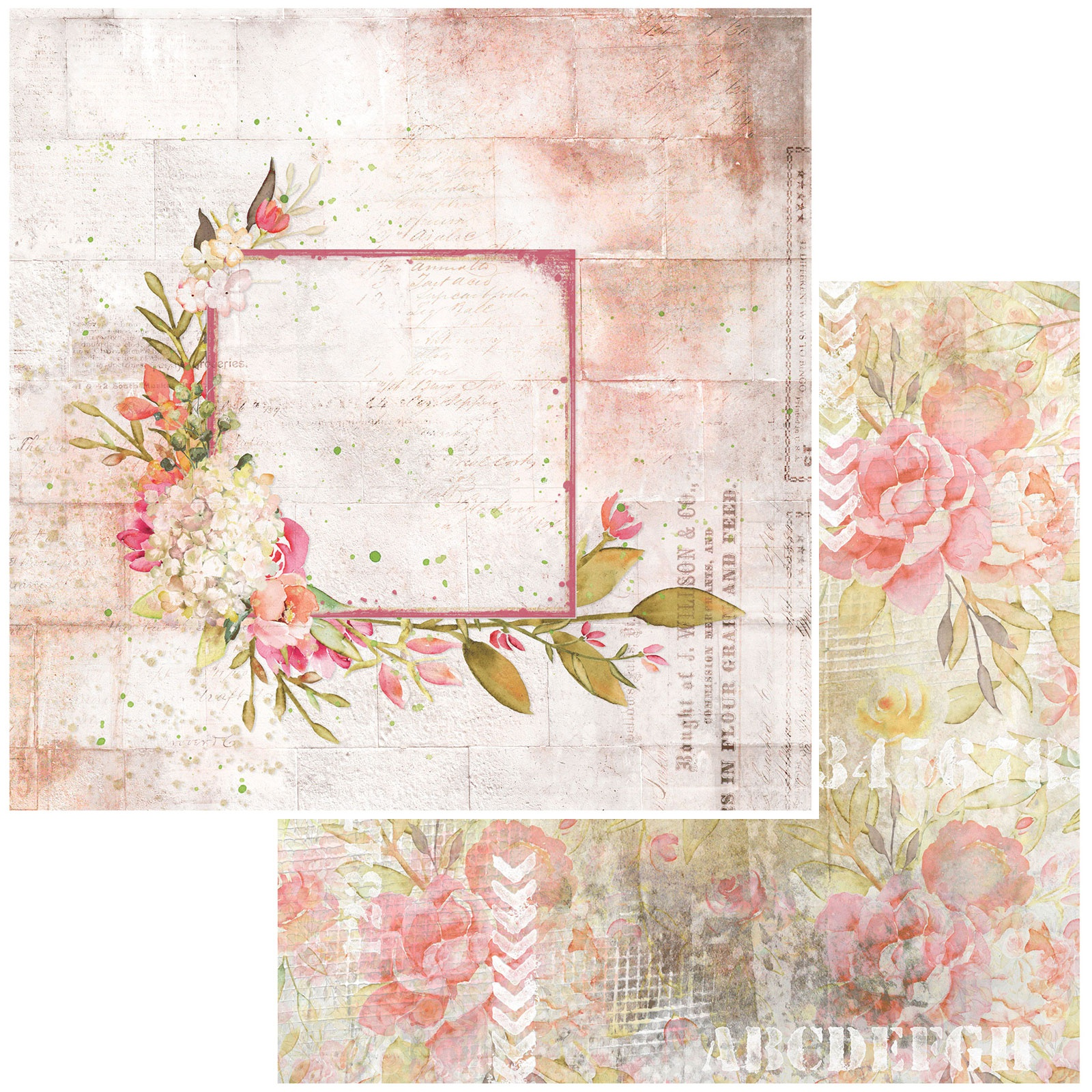 Bold & Beautiful Double-Sided Cardstock 12X12-Writing On The Wall