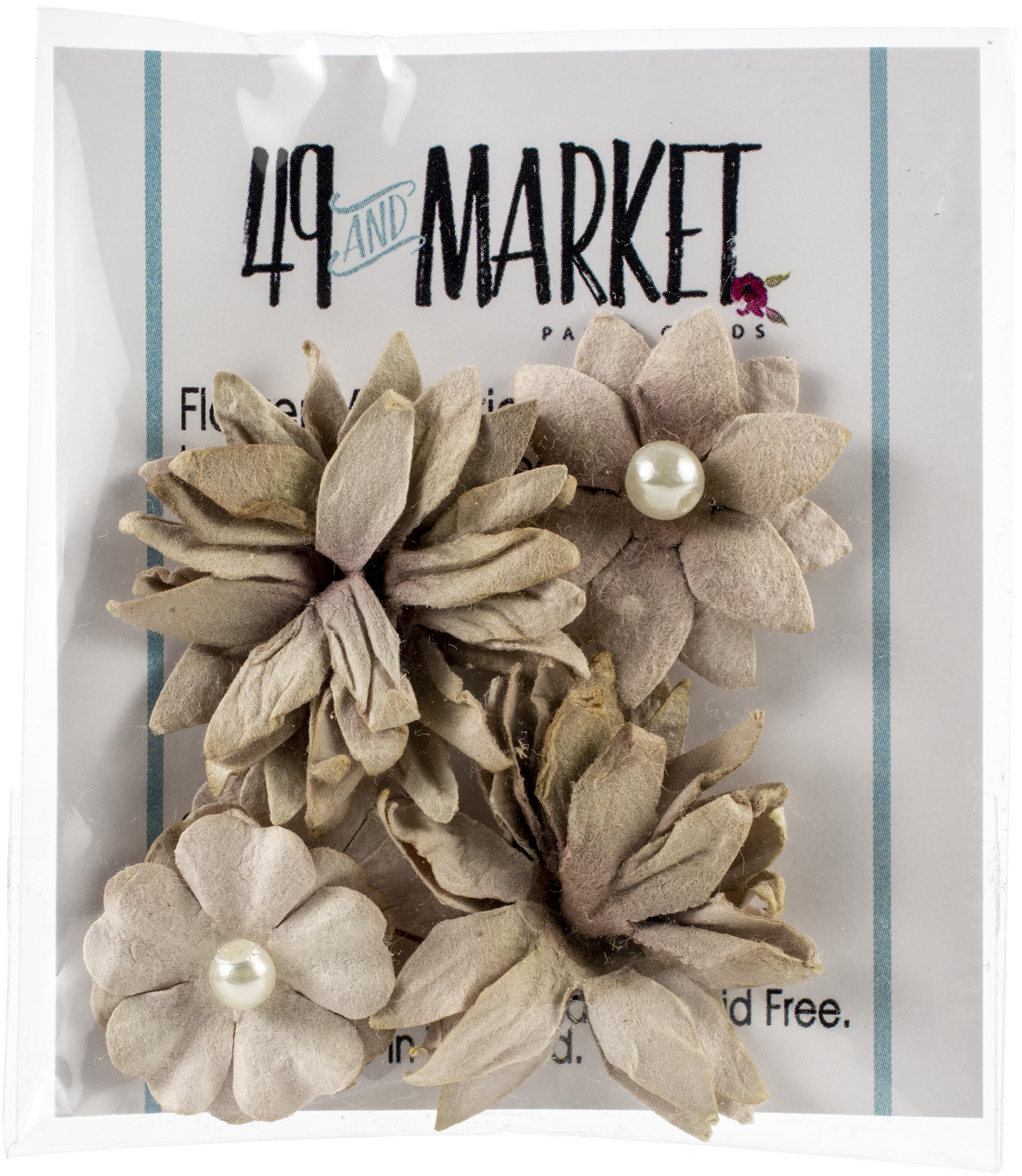 49&Market Mini Flw. - Mushroom