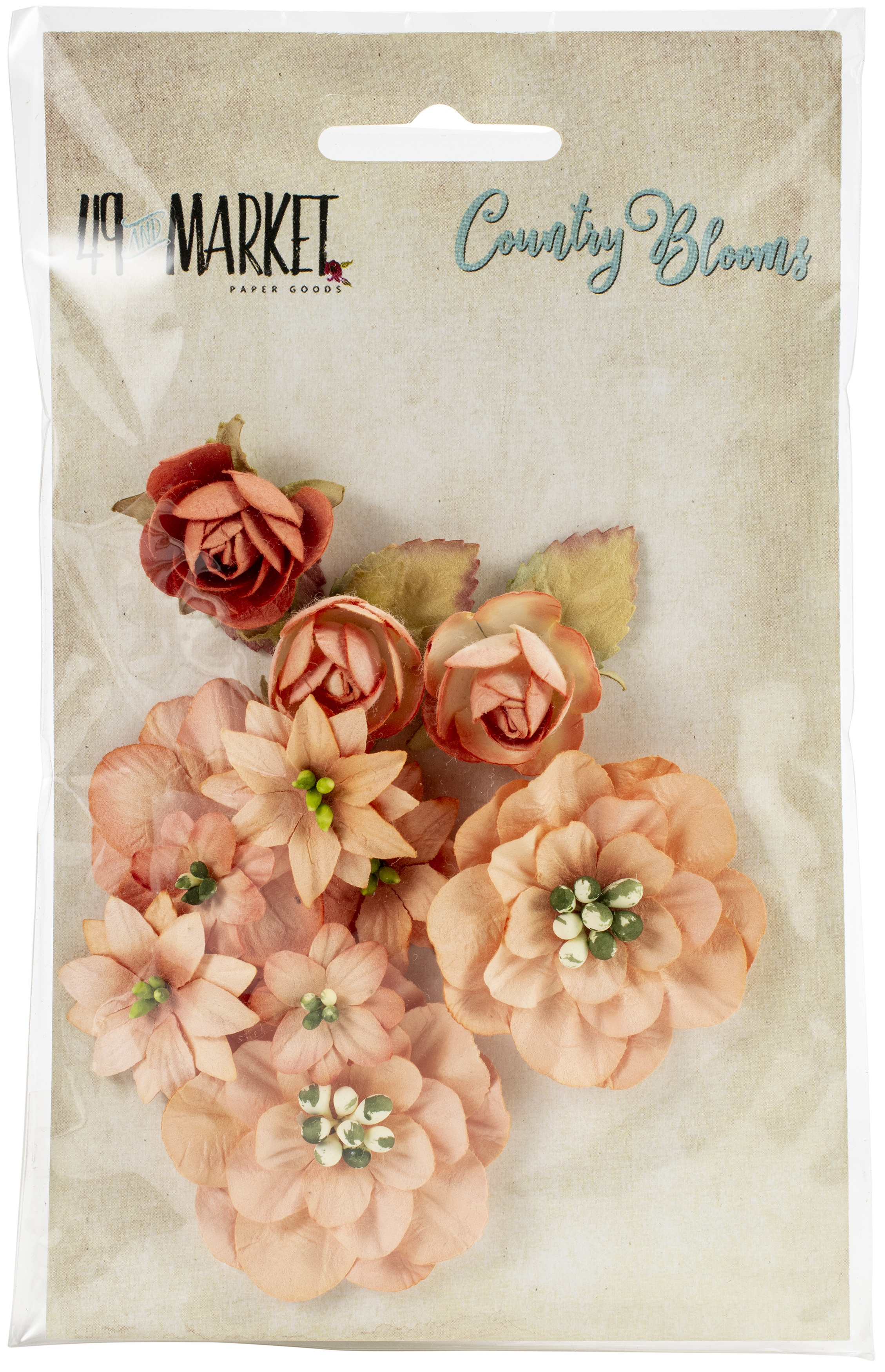 49 And Market Country Blooms 12/Pkg - CLICK TO SEE MORE
