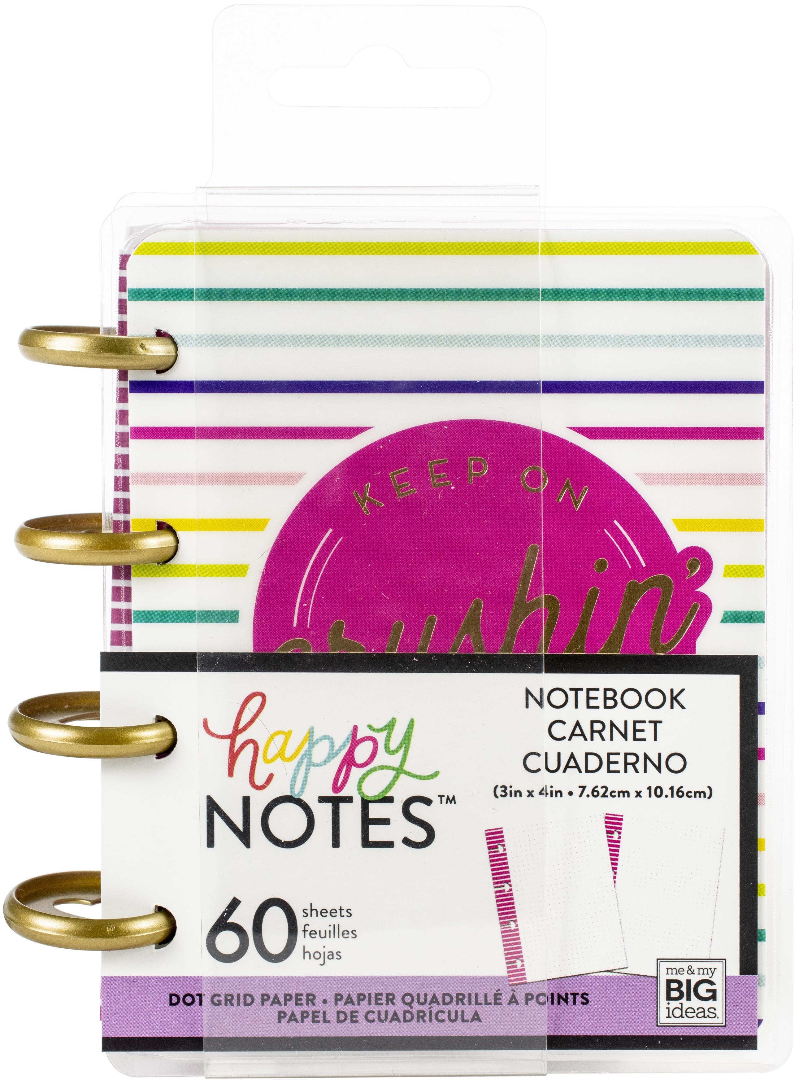 Happy Planner Micro Memo Book W/60 Sheets-Bright Dot Grid