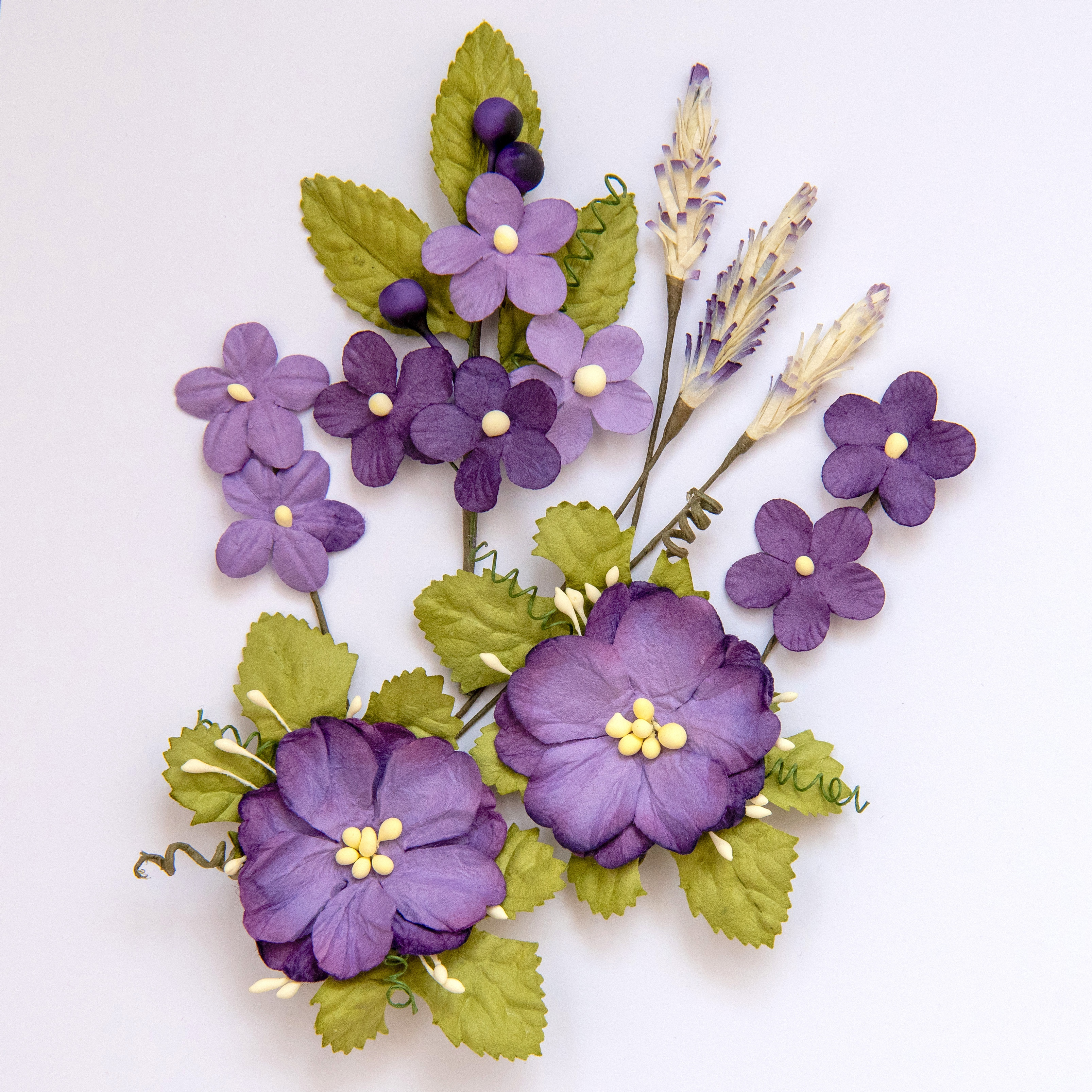 49 And Market Wildflowers 8/Pkg-Violet