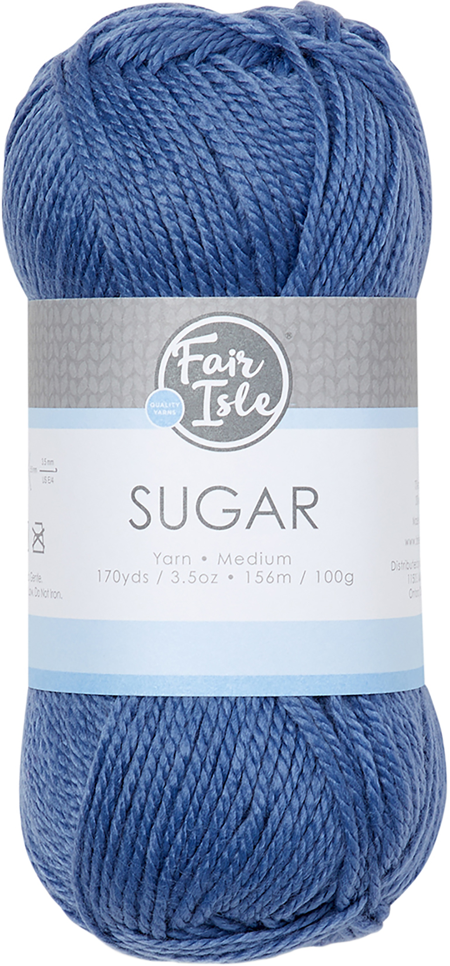 Fair Isle Sugar Yarn-Denim