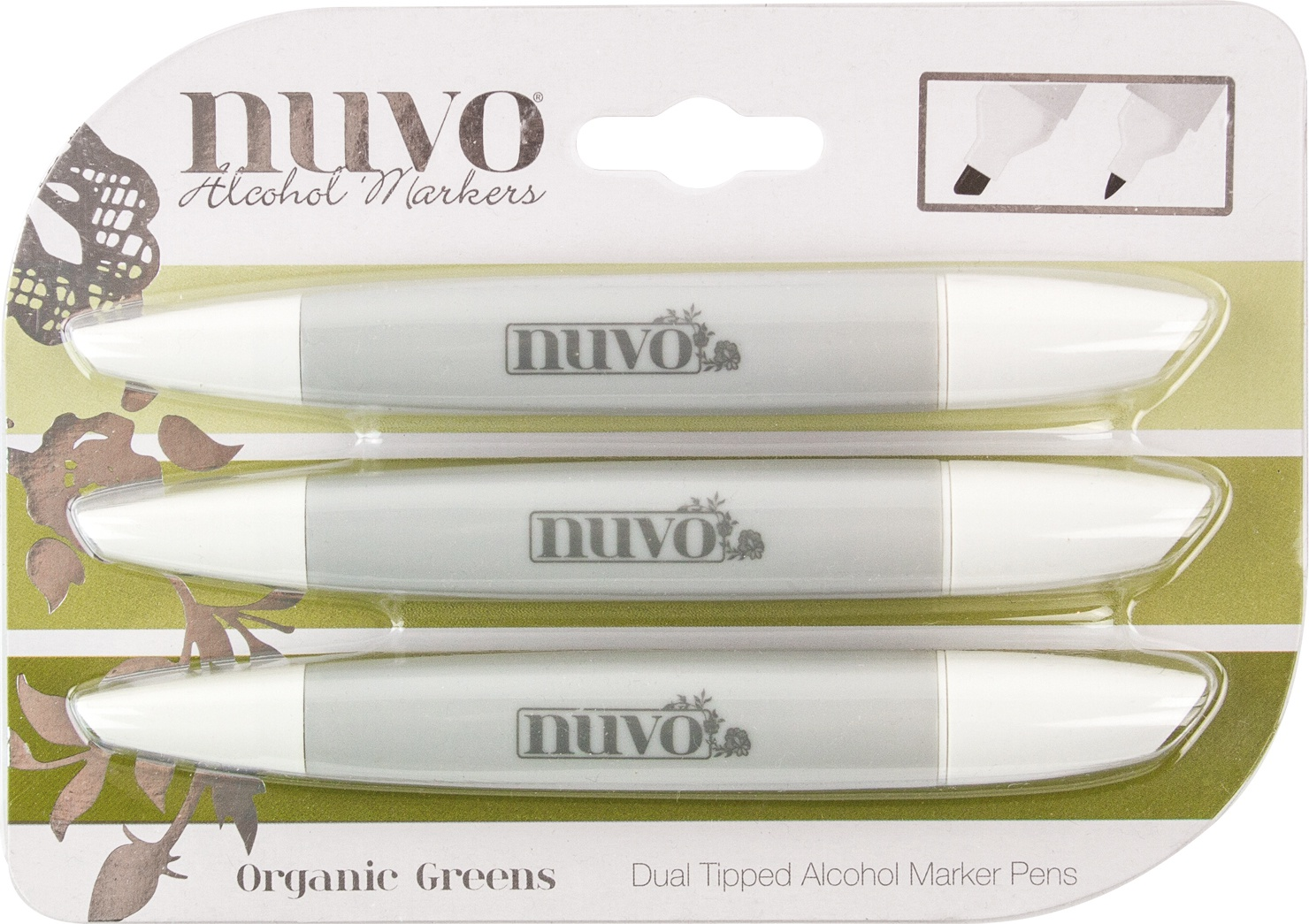 Nuvo Organic Greens Alcohol Mar