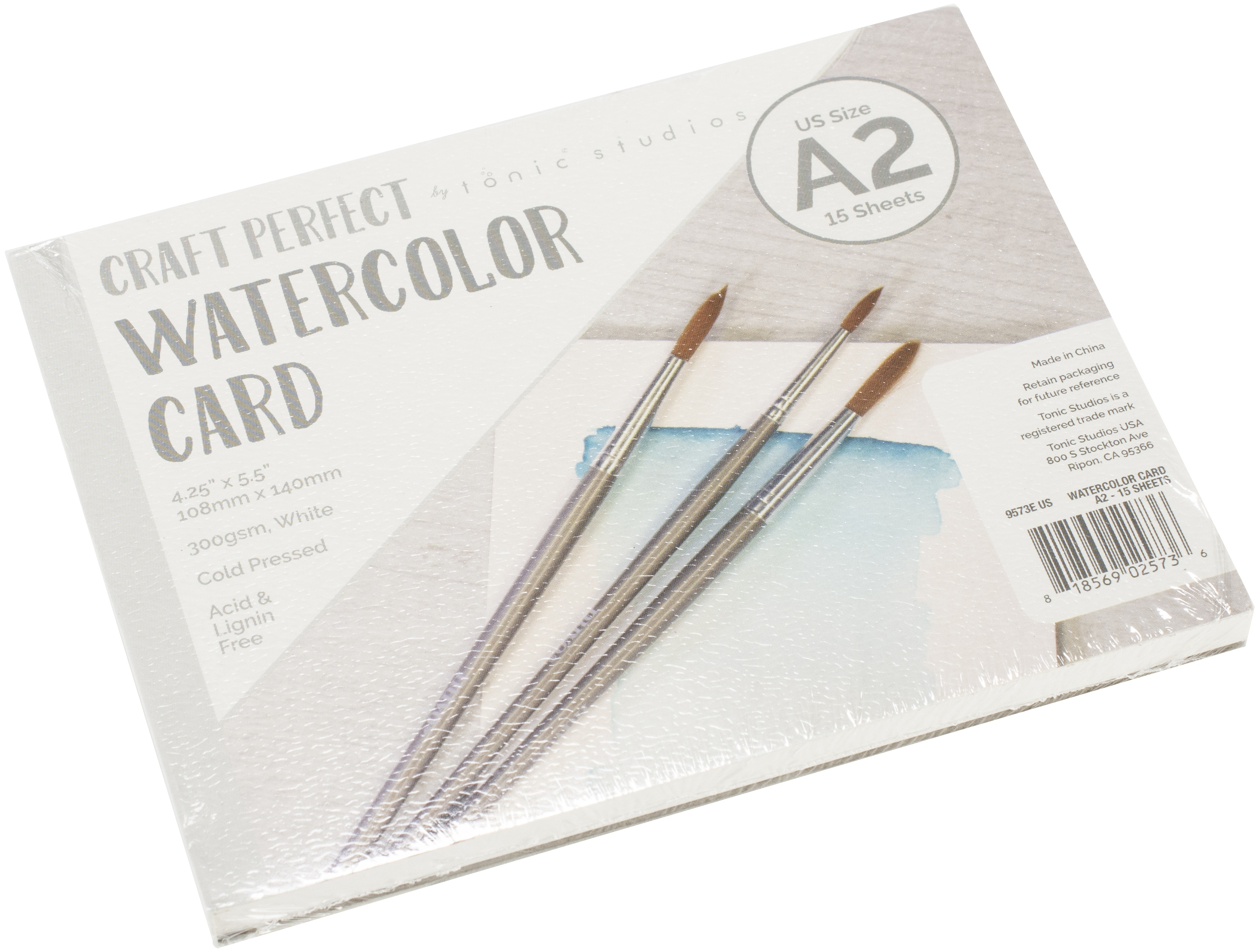 Craft Perfect - Watercolor Card Paper Pad 4.25x5.5
