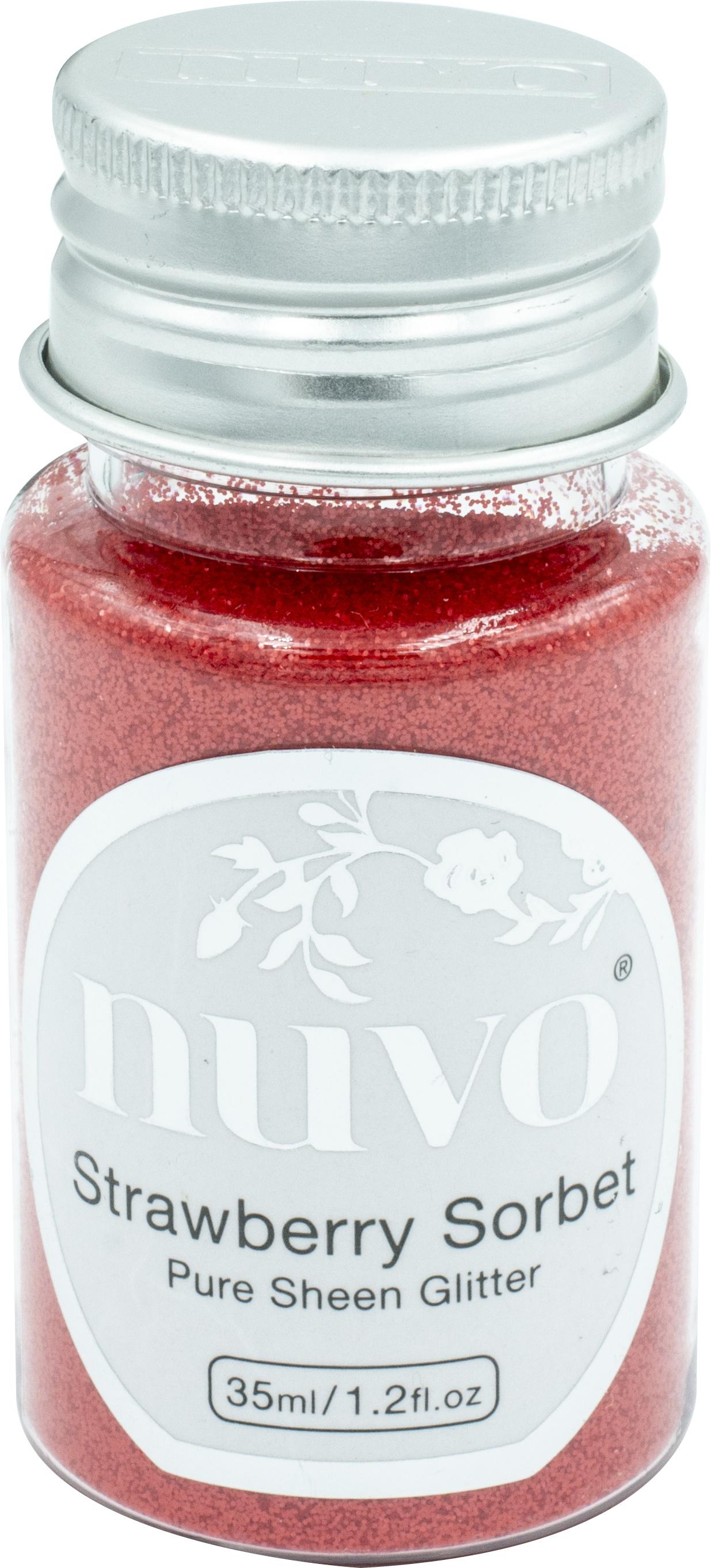 Nuvo Pure Sheen Glitter - Strawberry Sorbet (1116n)