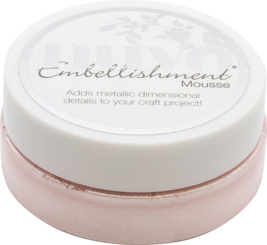 Nuvo Embellishment Mousse-Poppy Pink