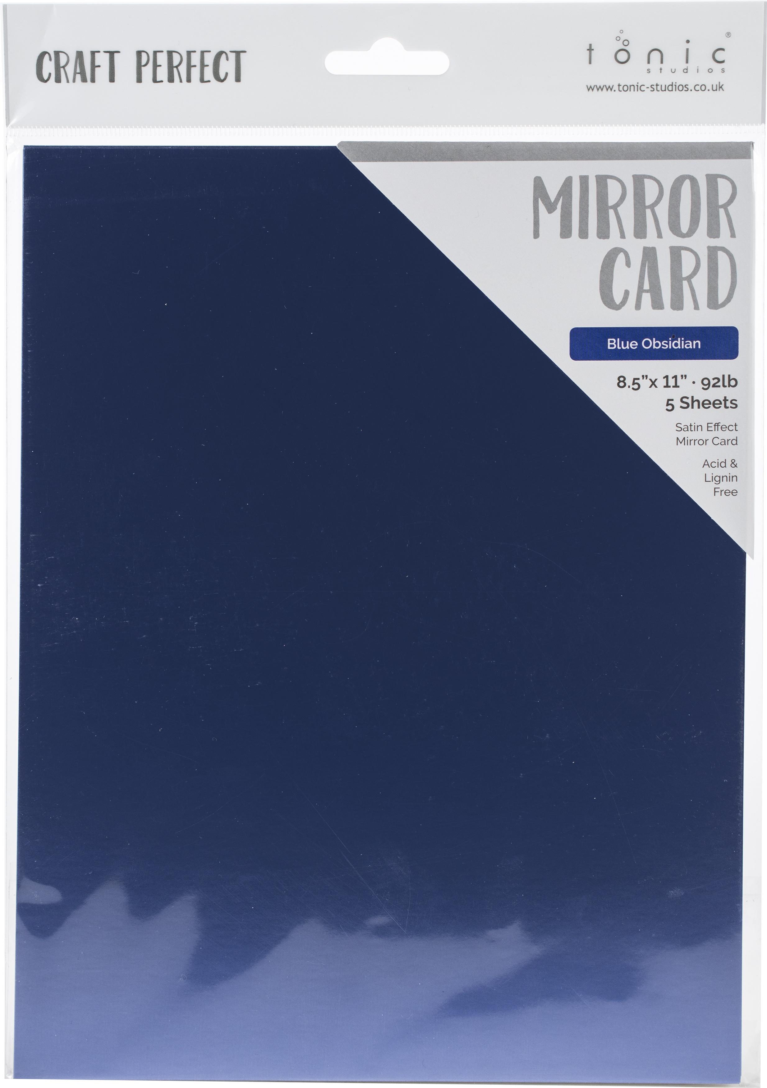 Mirror Cardstock Blue Obsidian