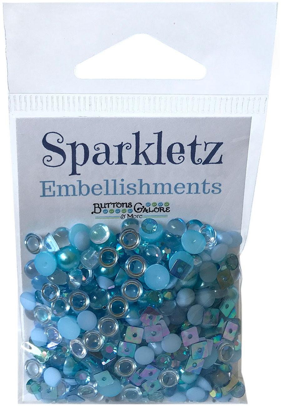 Sparkletz Embellishments Ocean Waves