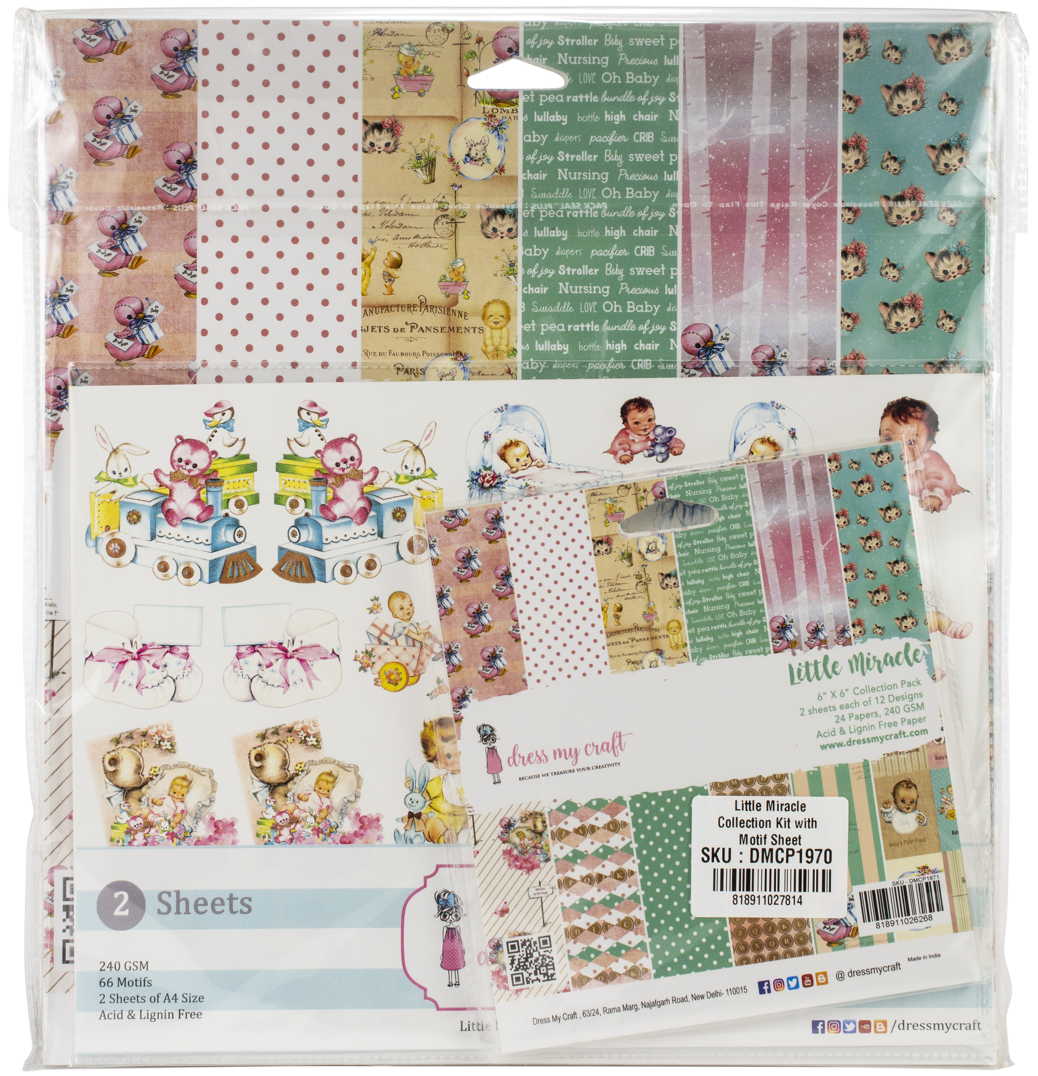 Dress My Craft Collection Kit - Little Miracle