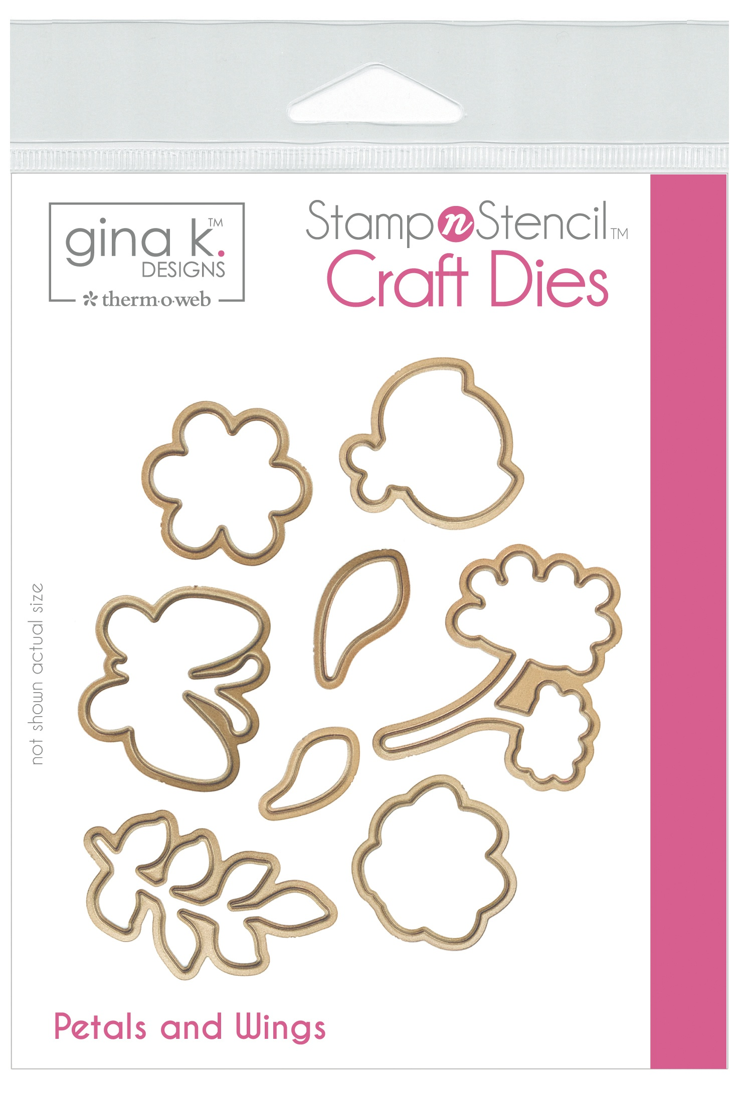 Gina K Designs Dies-Petals & Wings