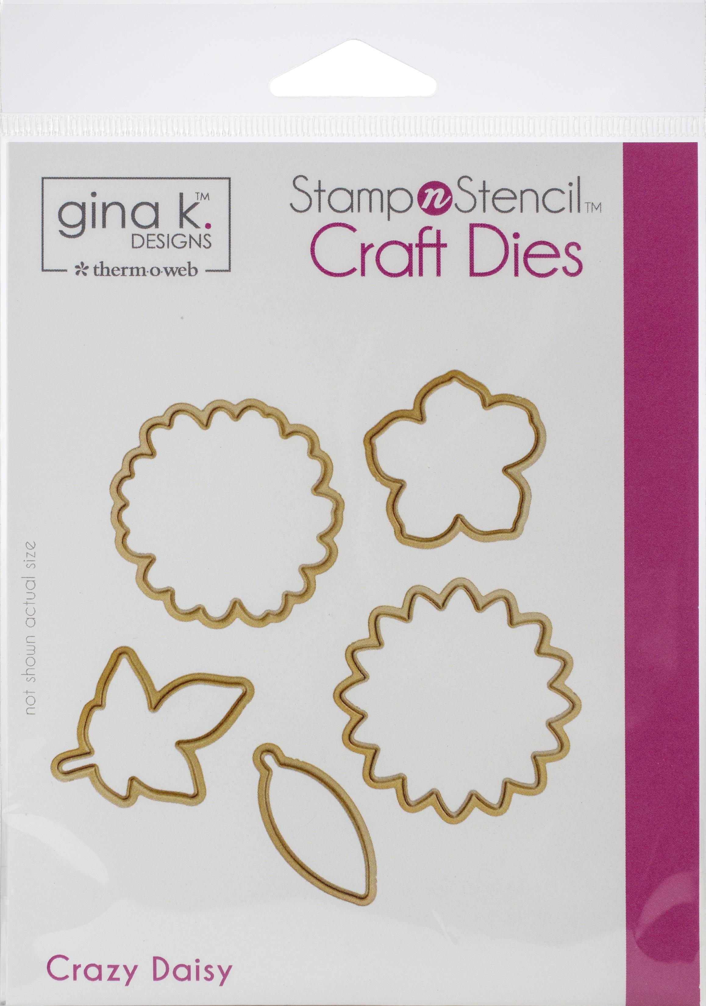 Gina K Designs Dies-Crazy Daisy