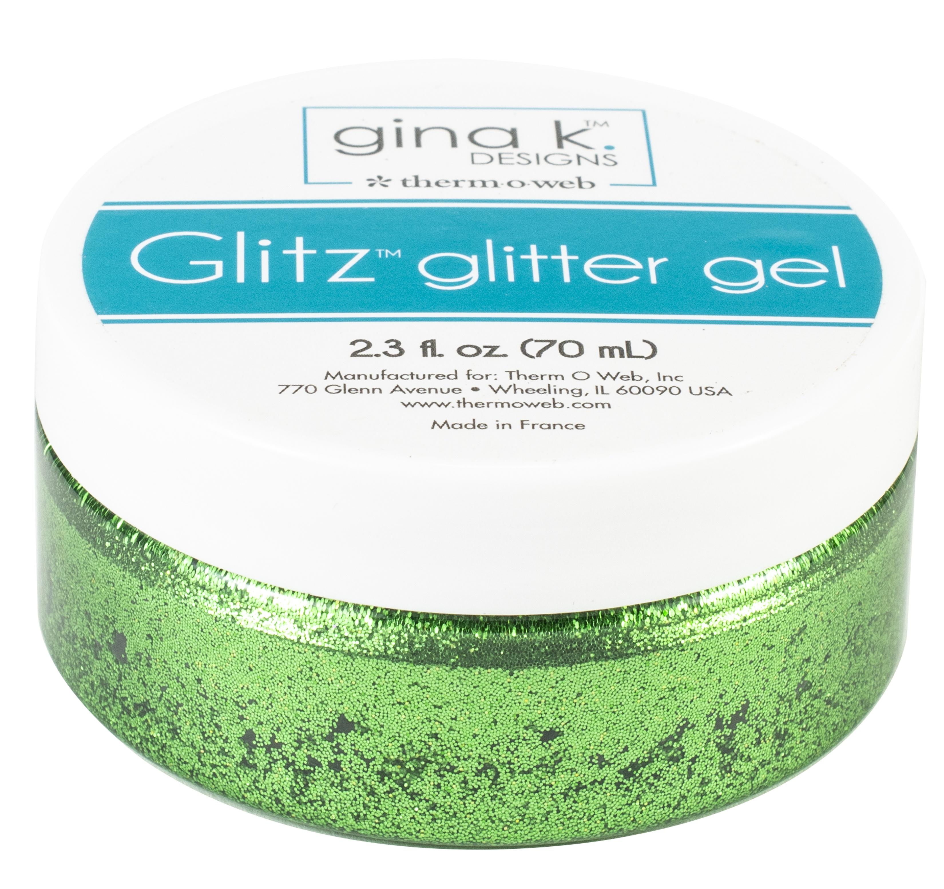 Glitz Glitter Gel Grass Green