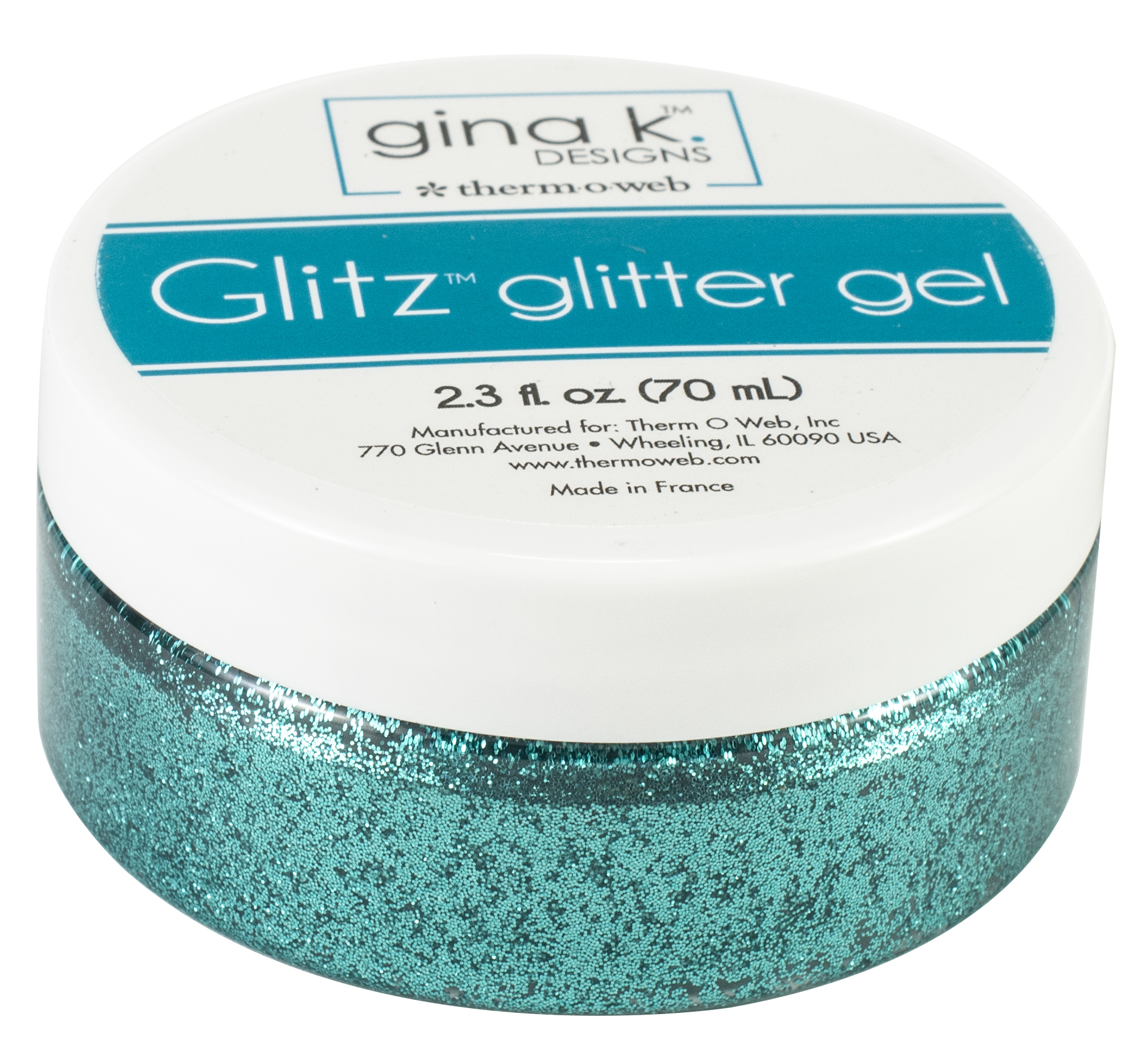 Glitz Glitter Gel Turquoise Sea