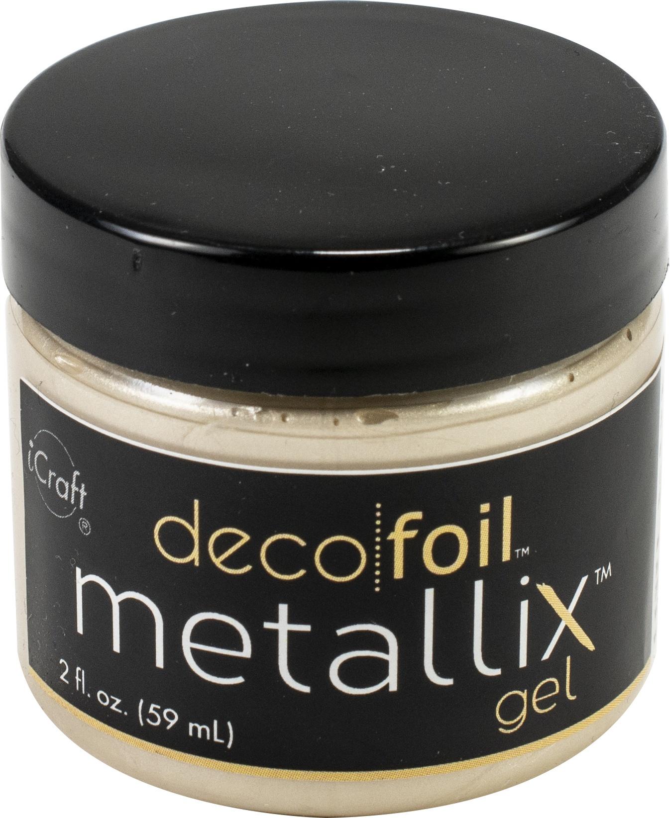 Deco Foil Metallix Gel Champagne Mist