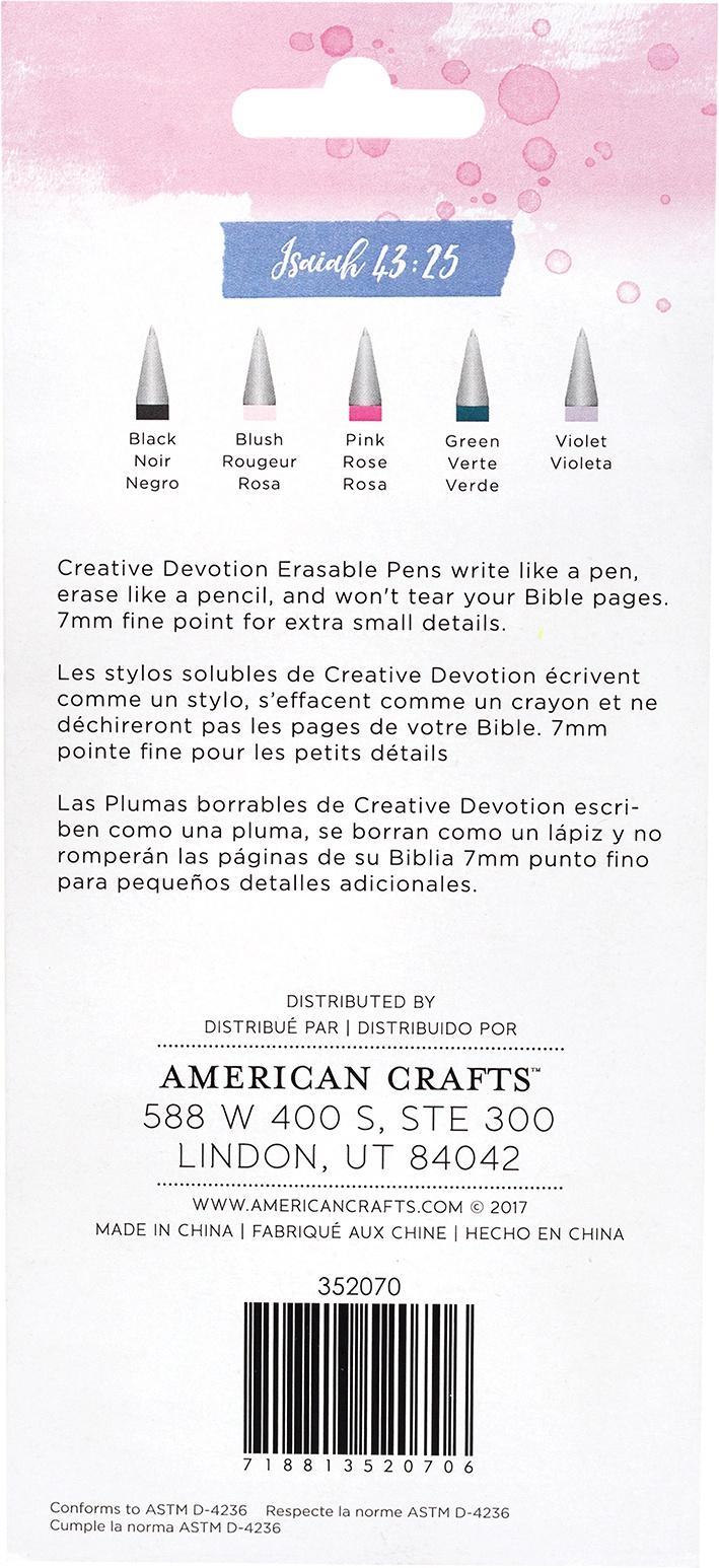 American Crafts Erasable Pens