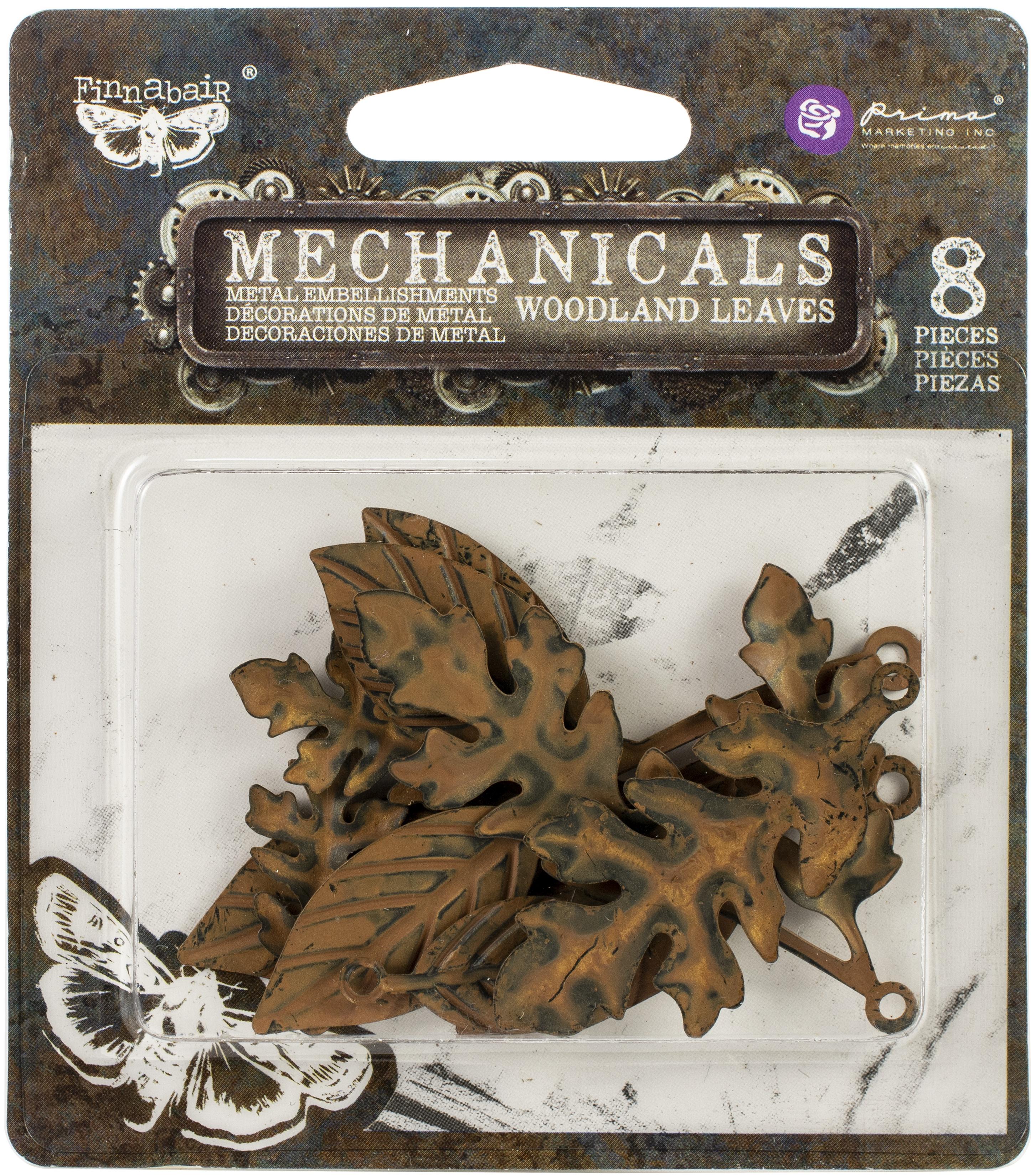 Woodland Leaves Mechanicals