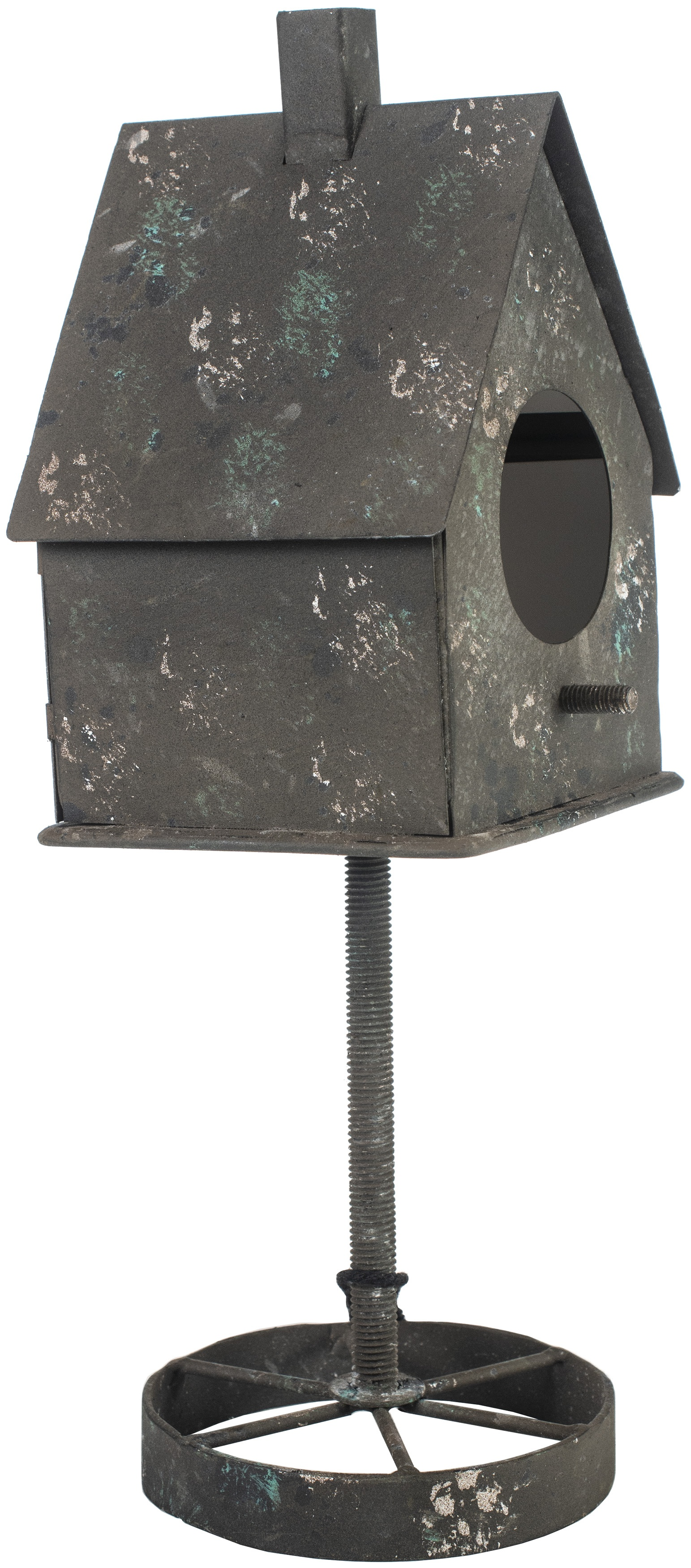 Prima Marketing Altered Metal Frame-Rusty Bird House