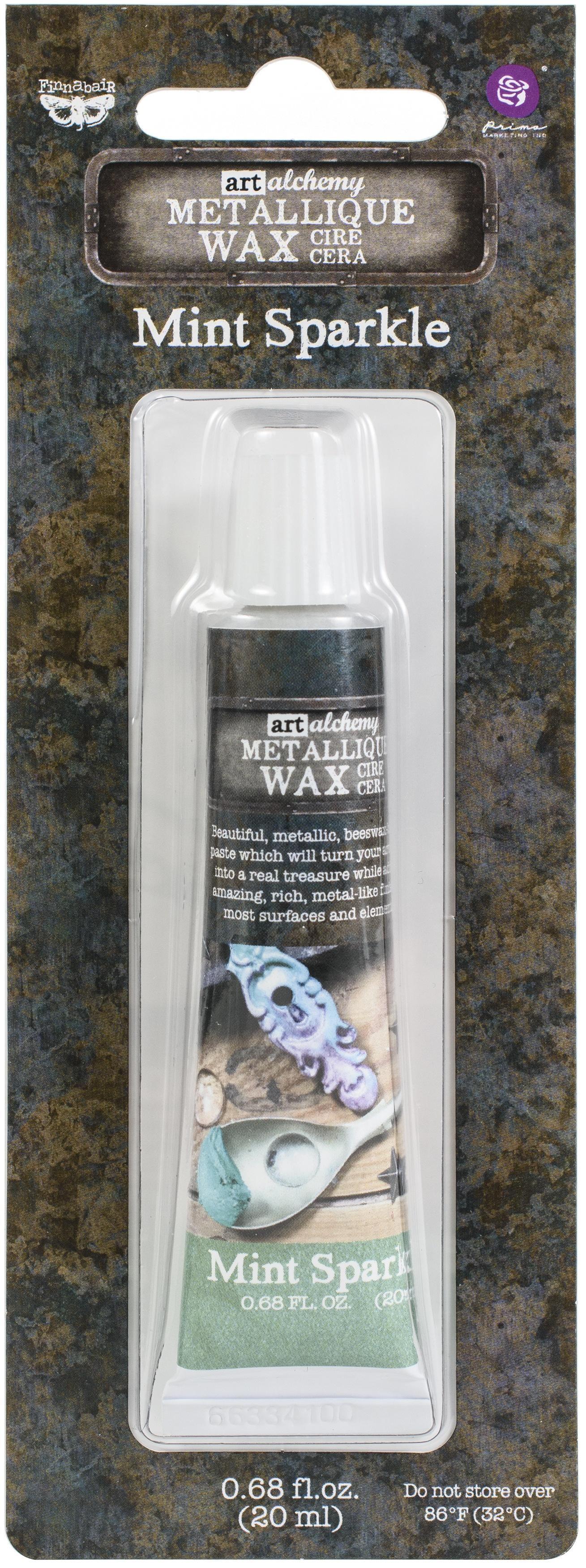 mint sparkle wax metallic