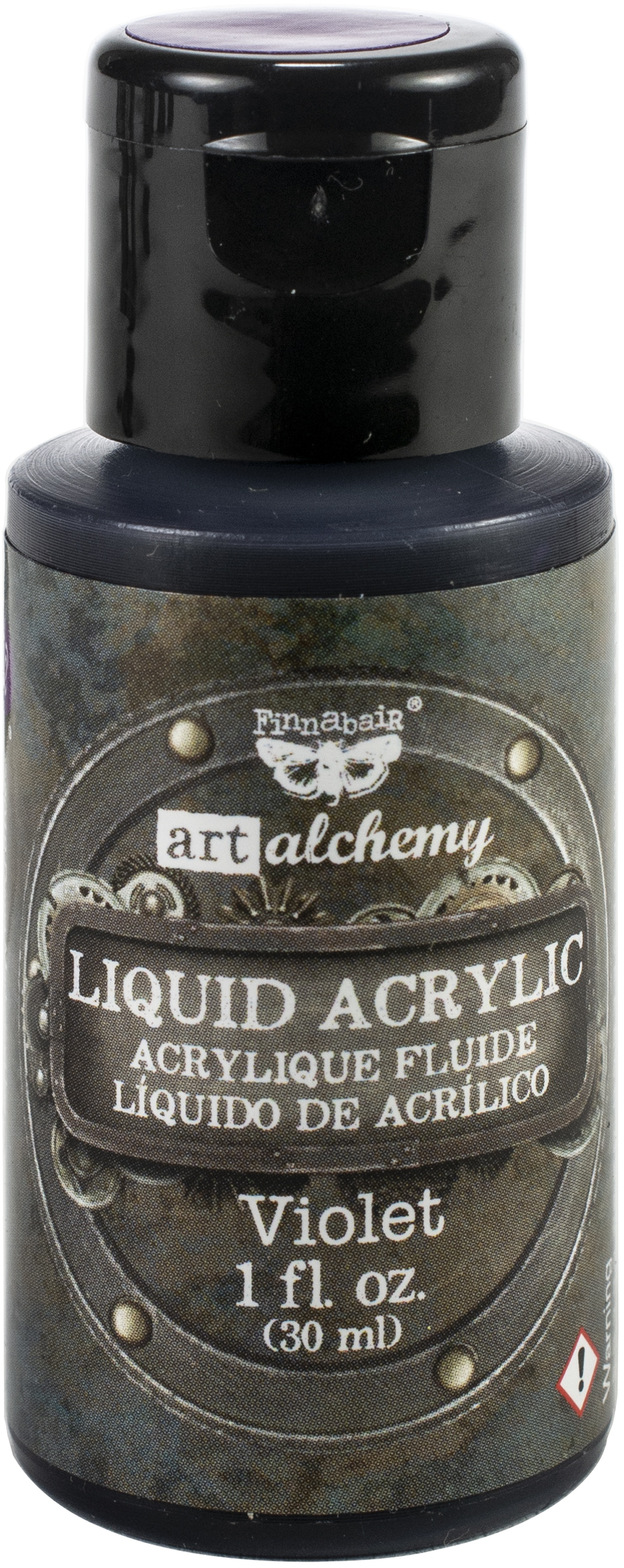 Finnabair Art Alchemy Liquid Acrylic Paint 1 Fluid Ounce-Violet