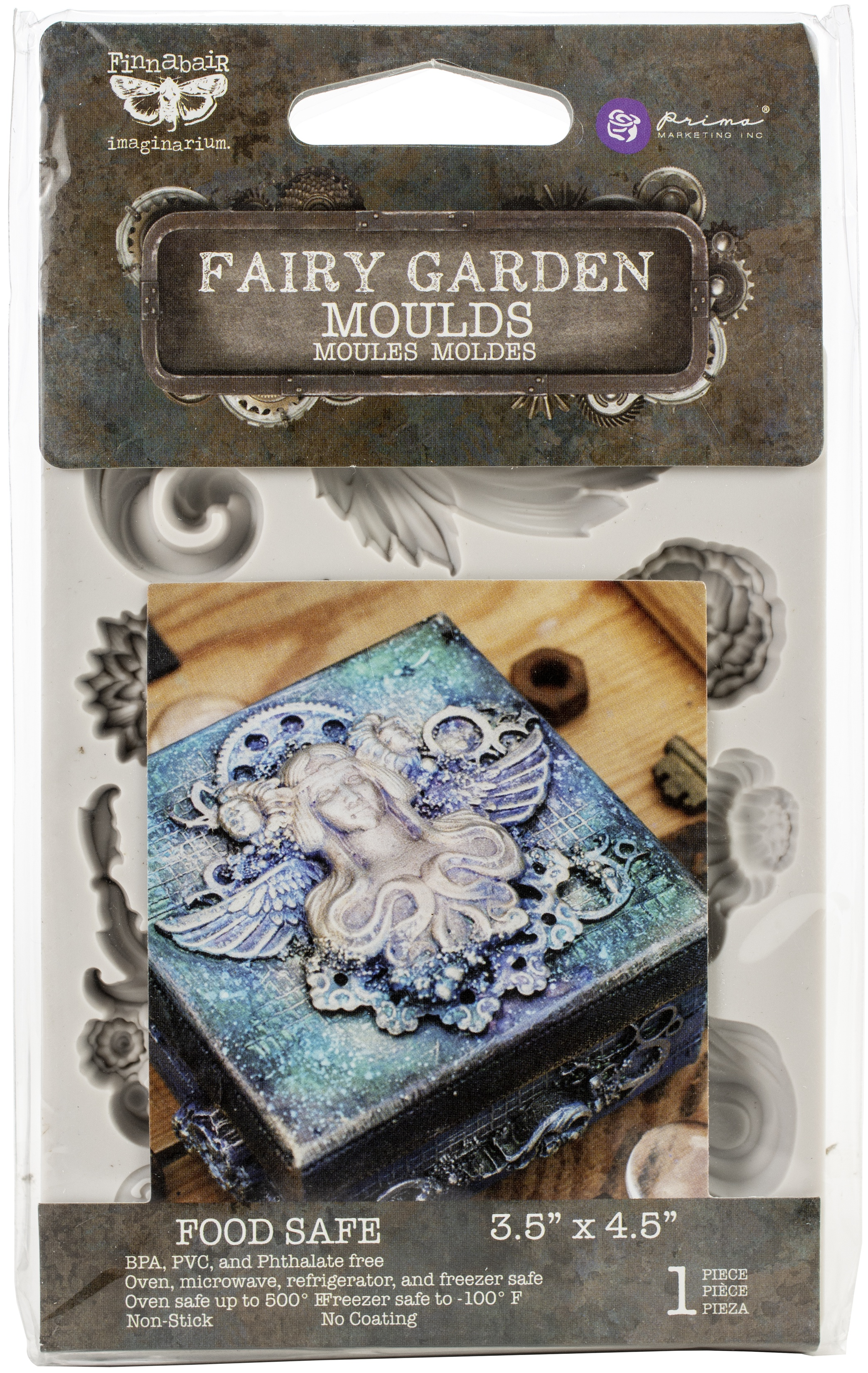 Finnabair Decor Moulds 3.5X4.5-Fairy Garden