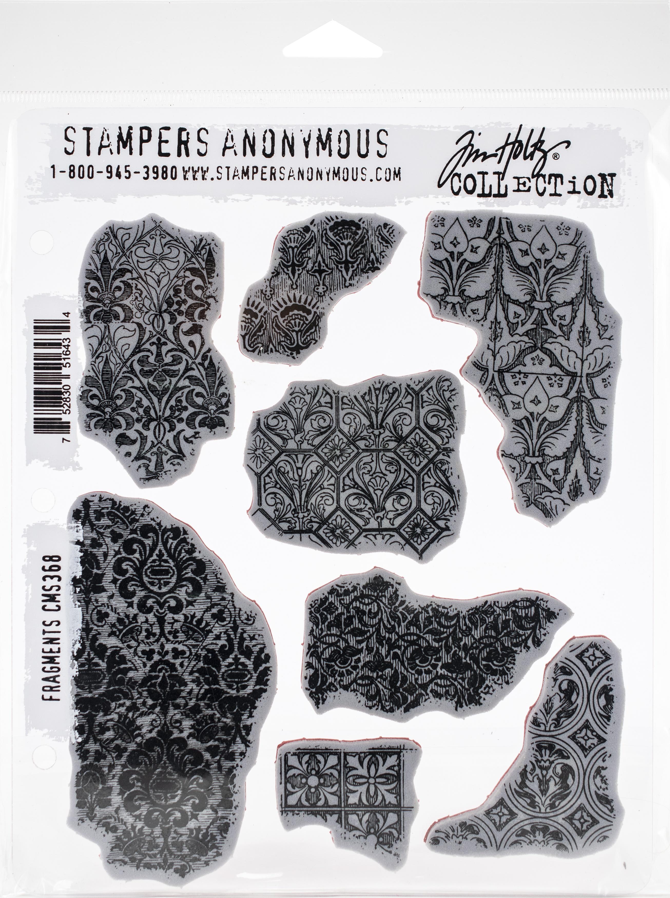 Tim Holtz - Cling Stamp - Fragments