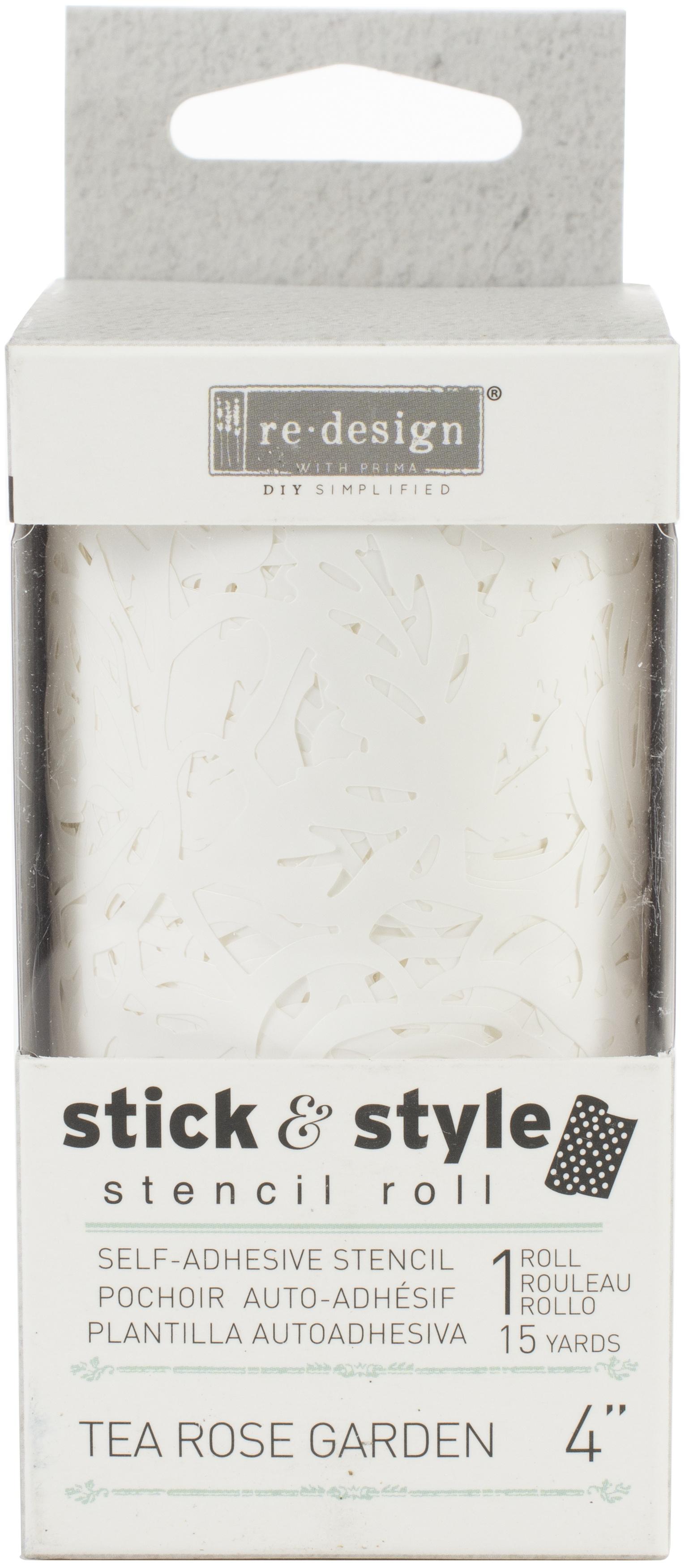 Stick & Style Tea Rose