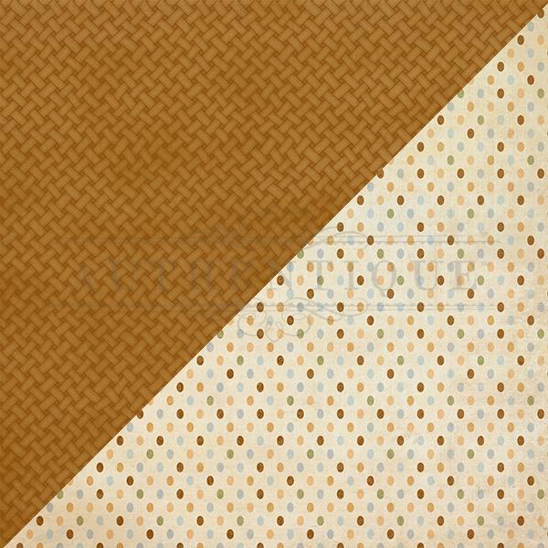 Abundant Double-Sided Cardstock 12X12-#5 Basket Weave