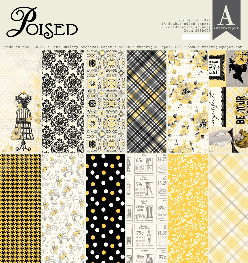 Authentique Collection Kit 12X12-Poised