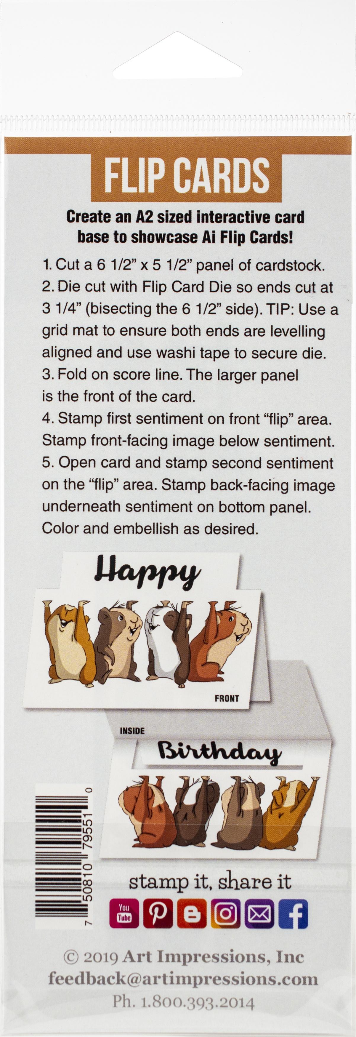 Art Impressions Flip Card Die