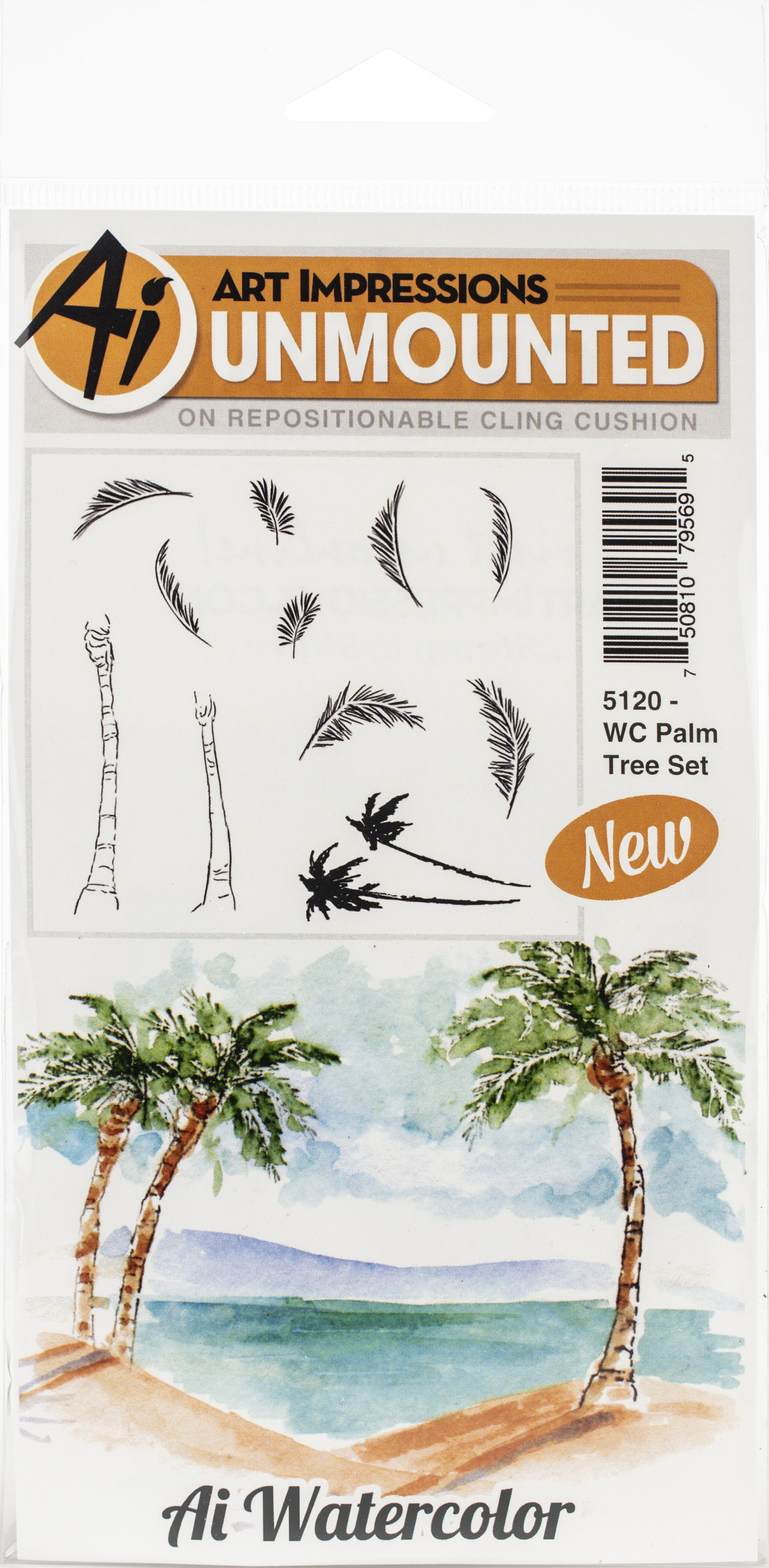 WC Palm Tree Set