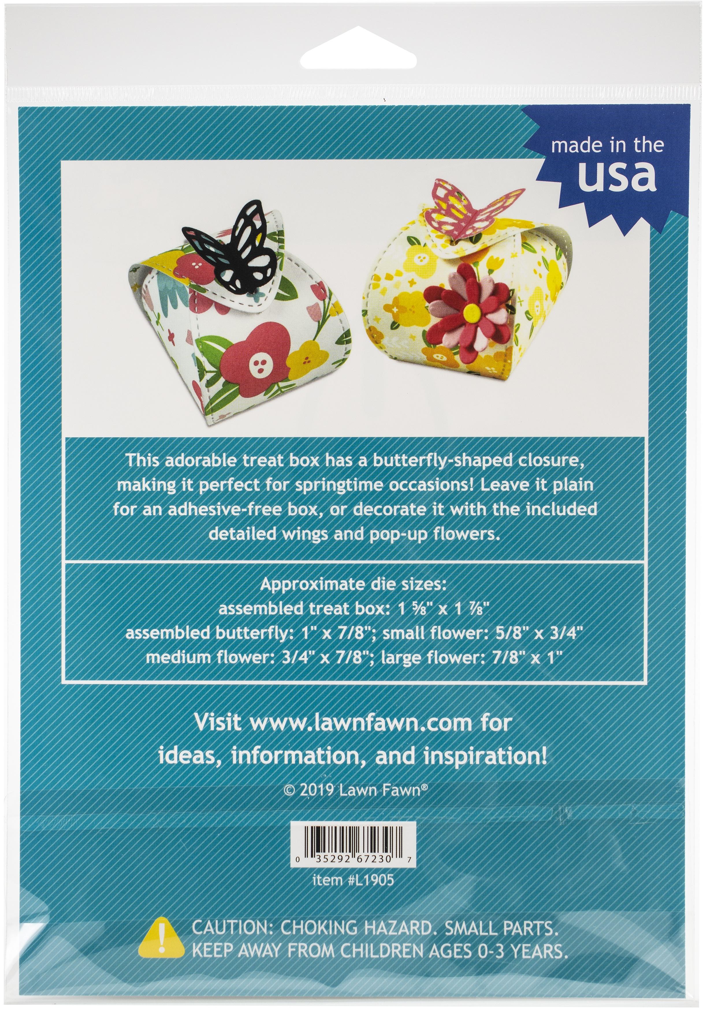 Butterfly Treat Box Die