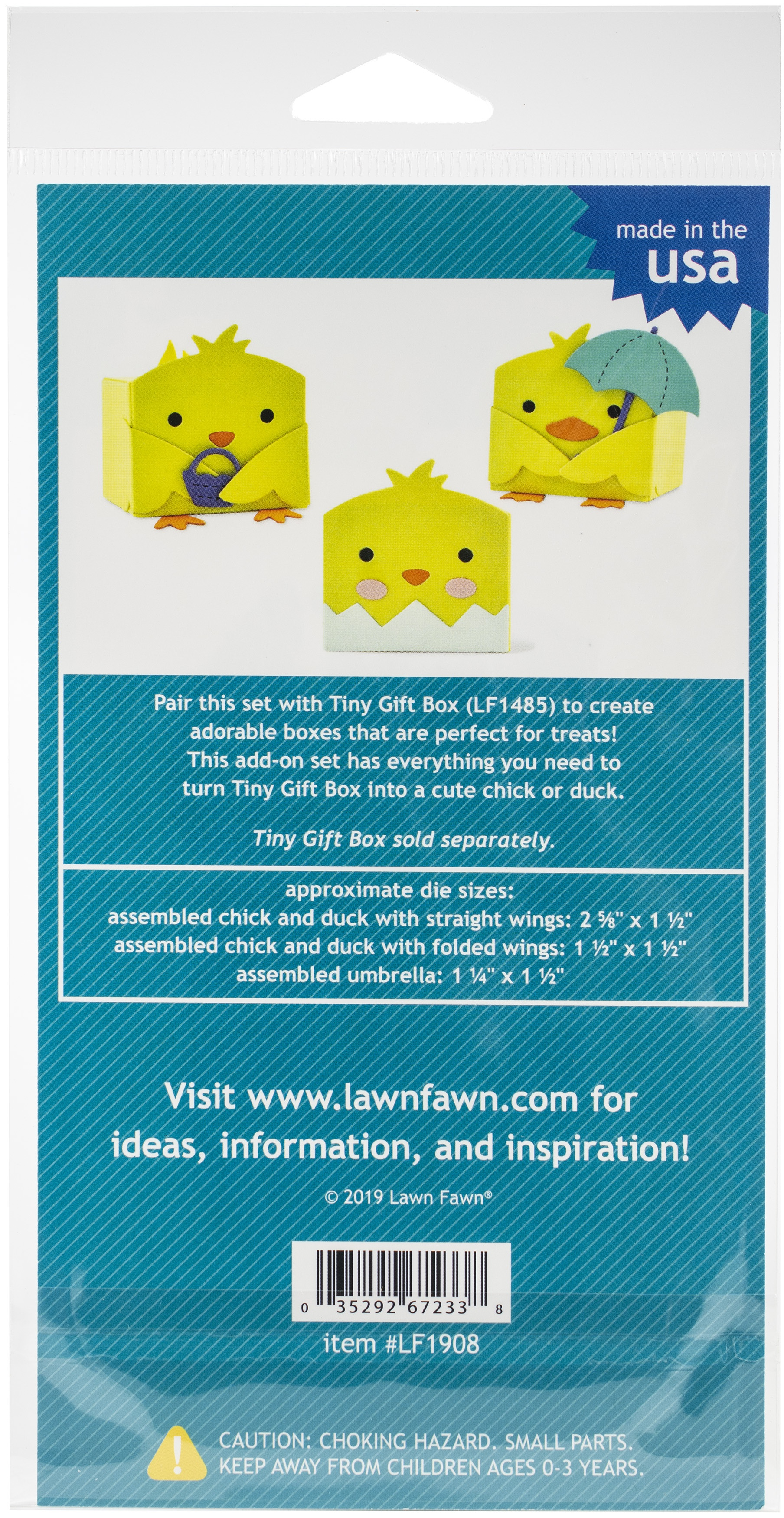 Tiny Gift Box Chick And Duck A