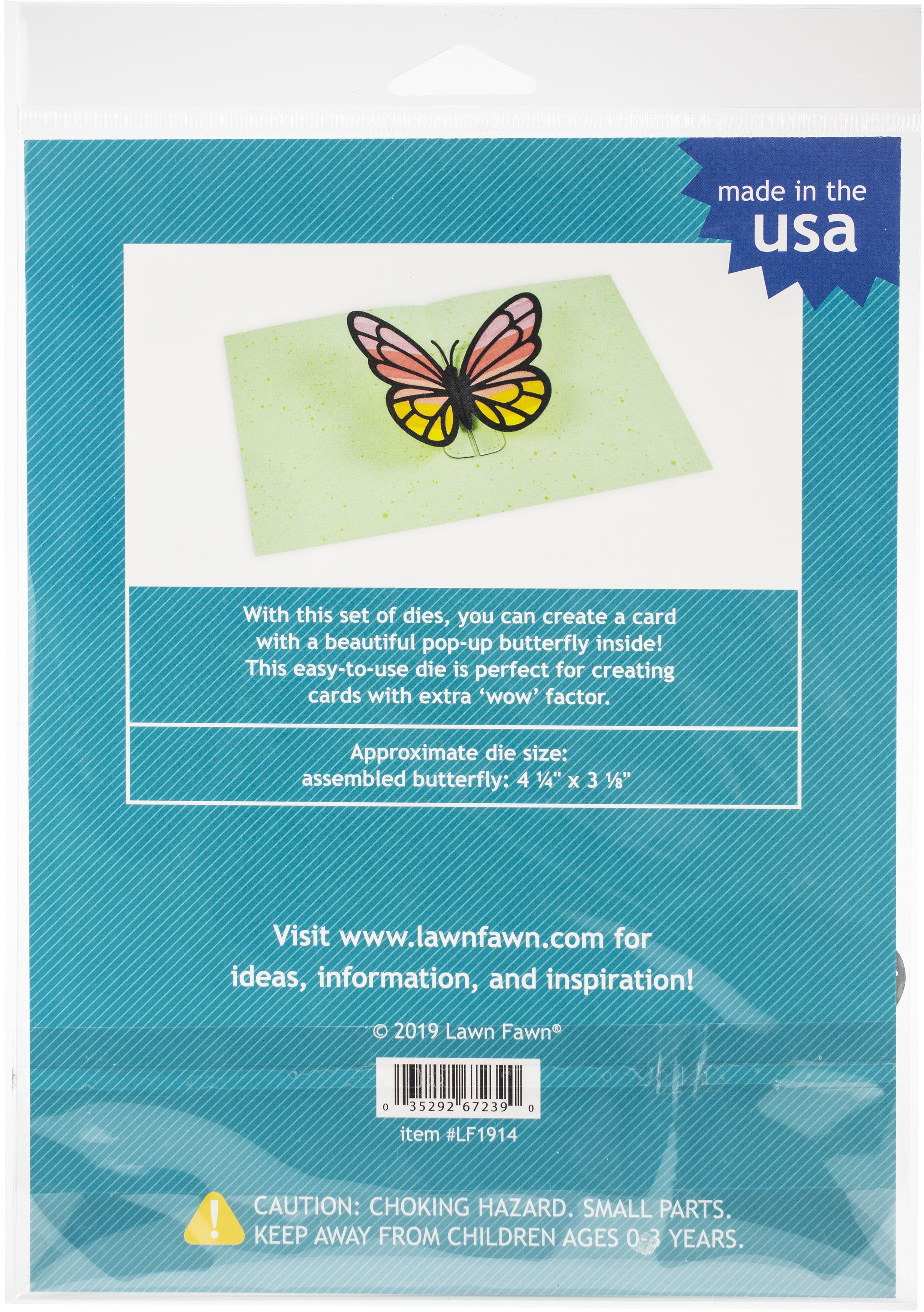 LF1914 Pop Up Butterfly Dies