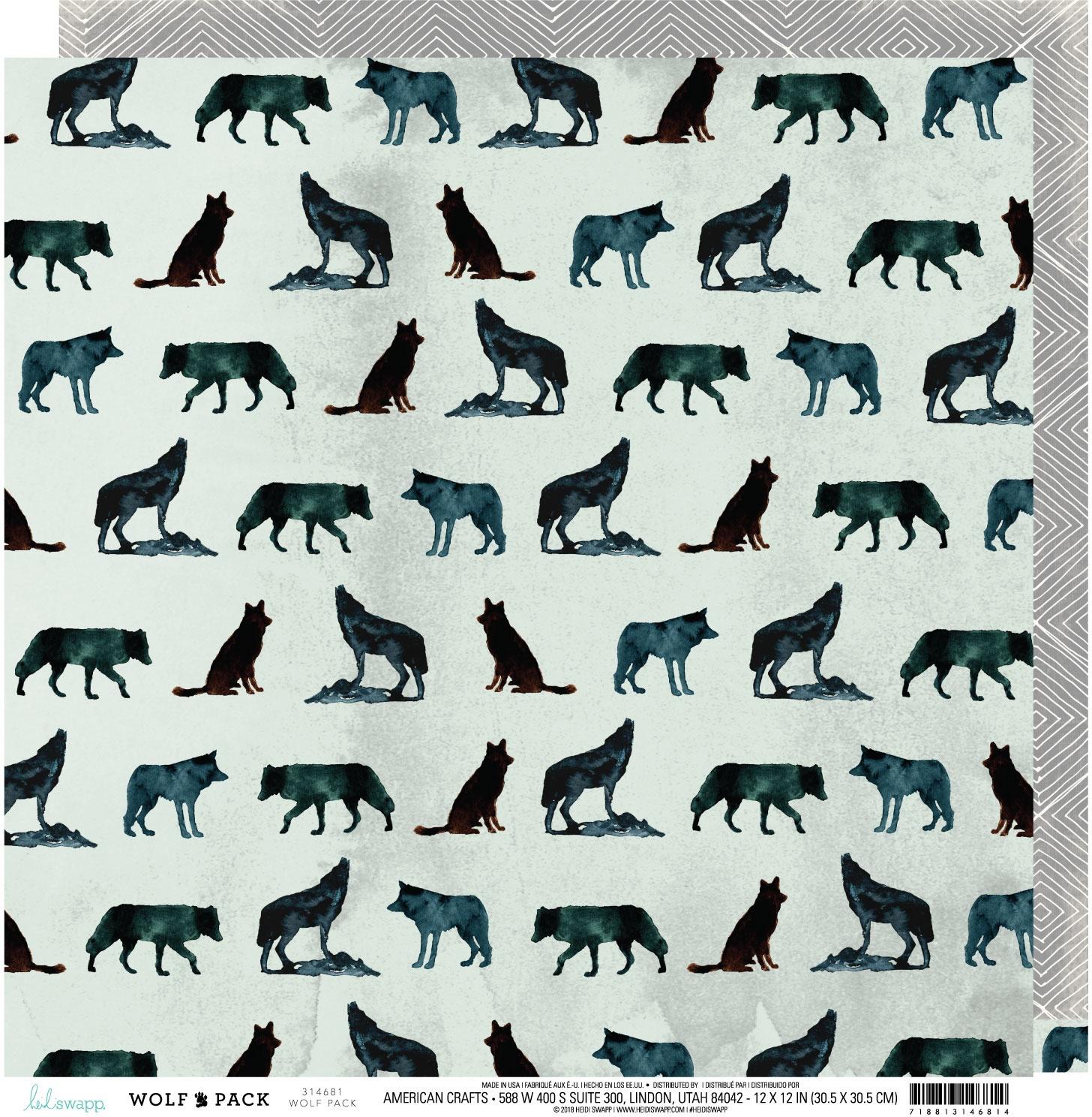 Heidi Swapp Wolf Pack - Wolf Pack