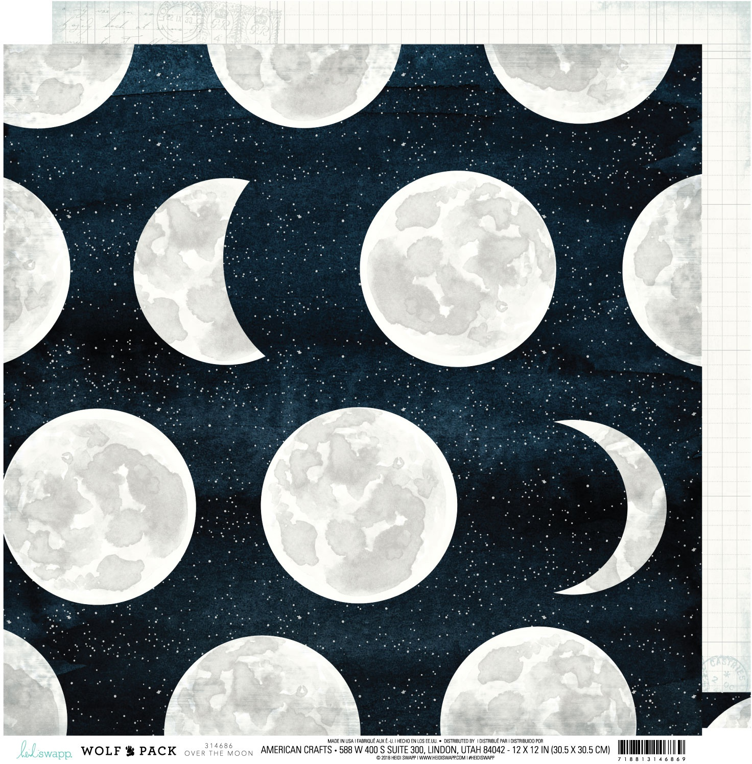 Heidi Swapp Wolf Pack - Over the Moon