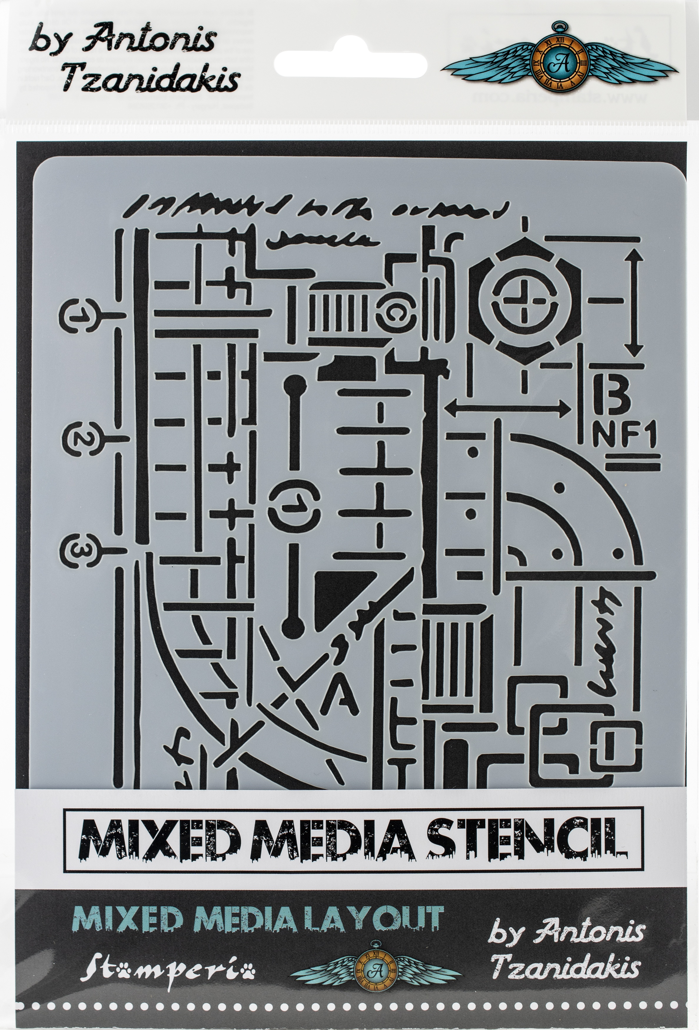 Stamperia Mixed Media Layout St