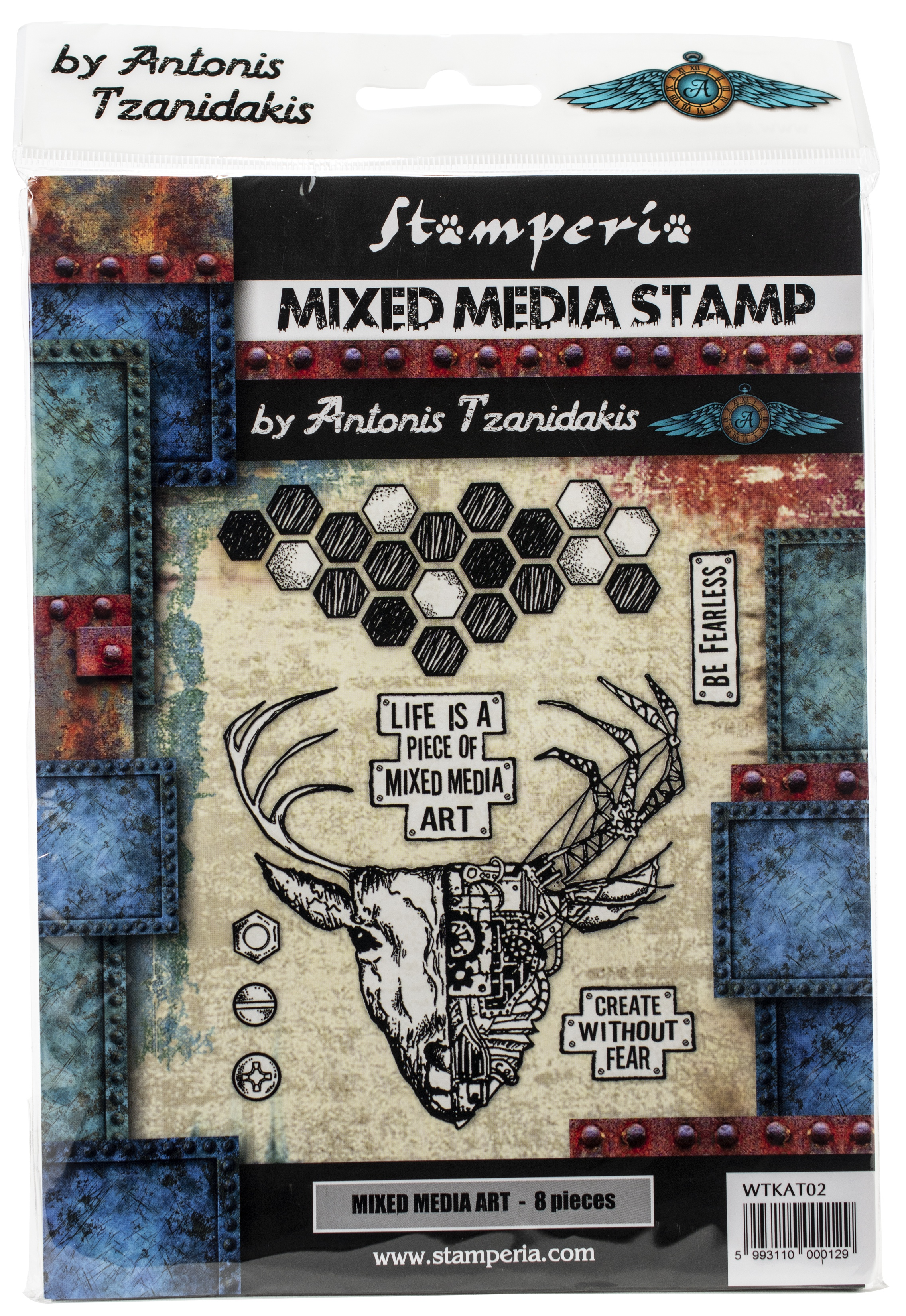 Mixed Media Art Stamps