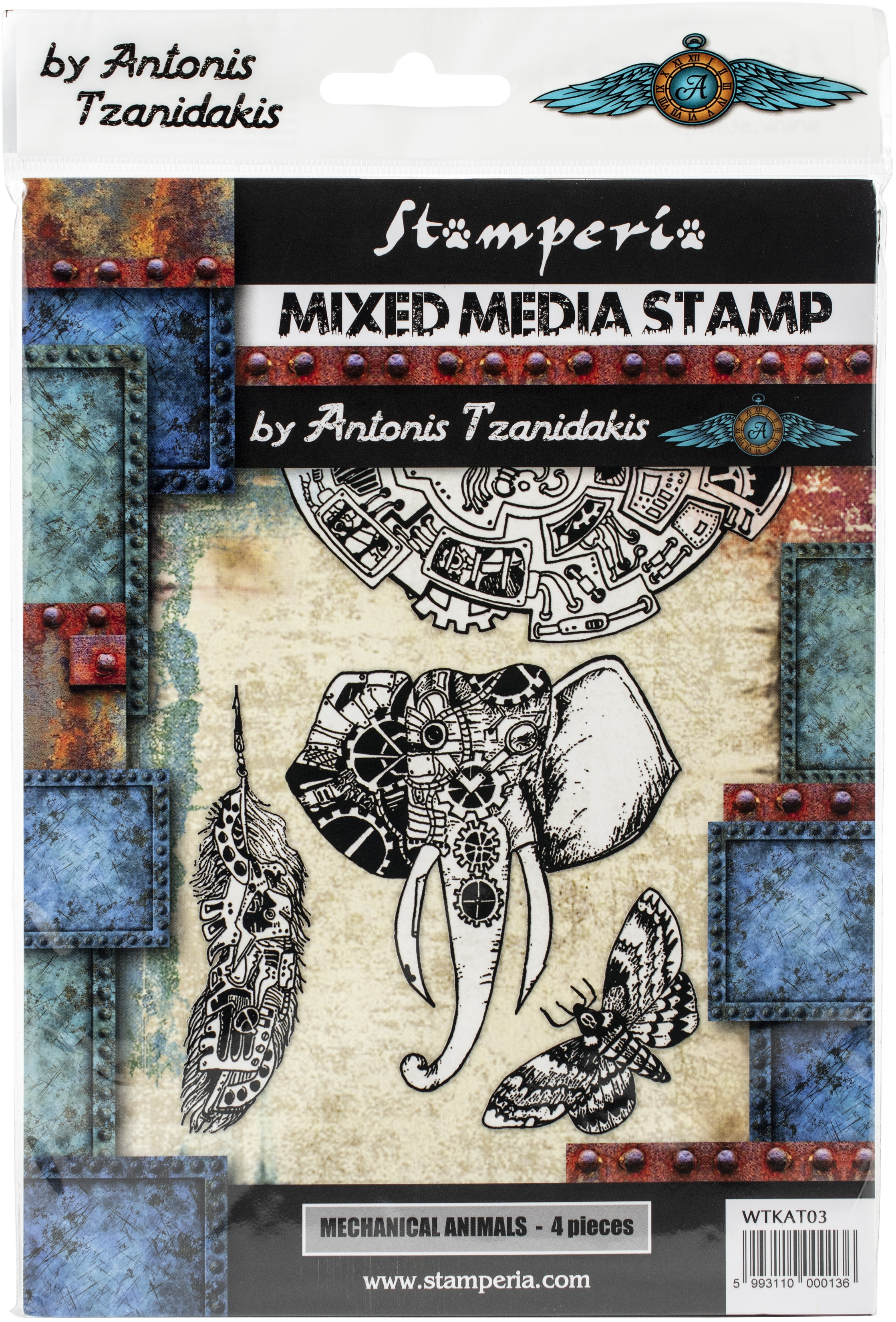 Mechanical Animals Stamps