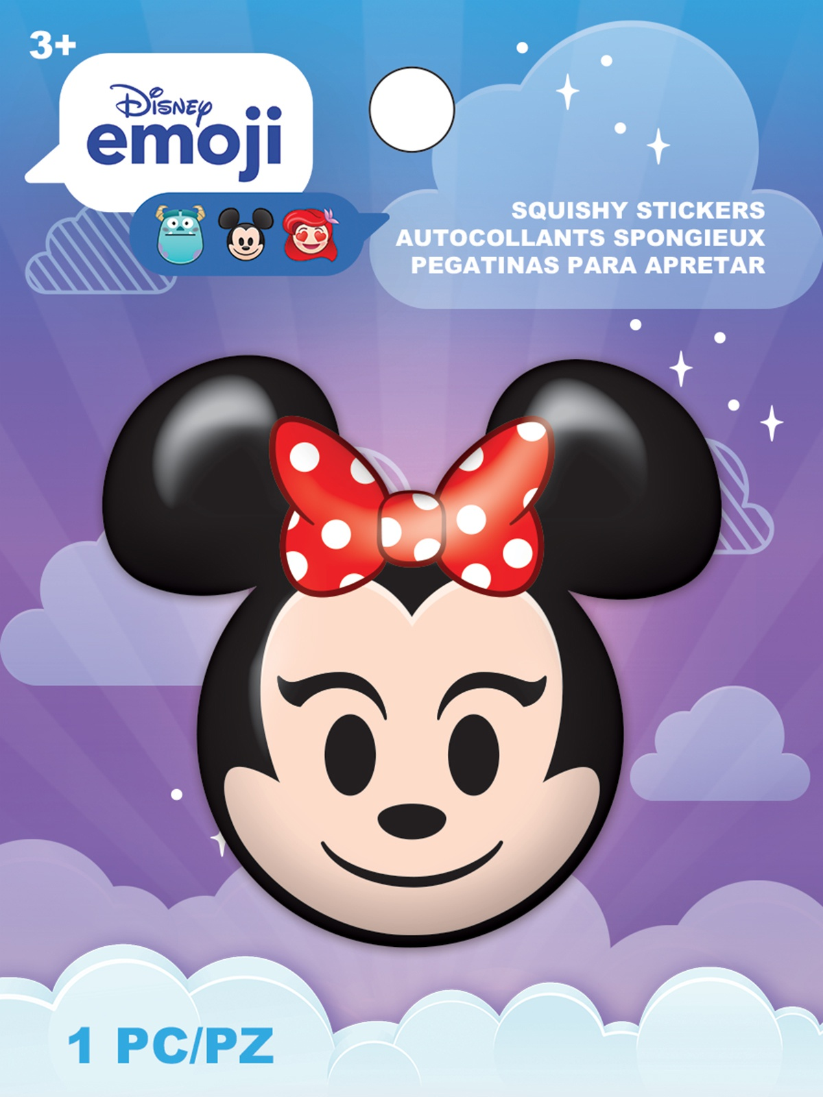 AM Squishy Emoji Stickers Minnie