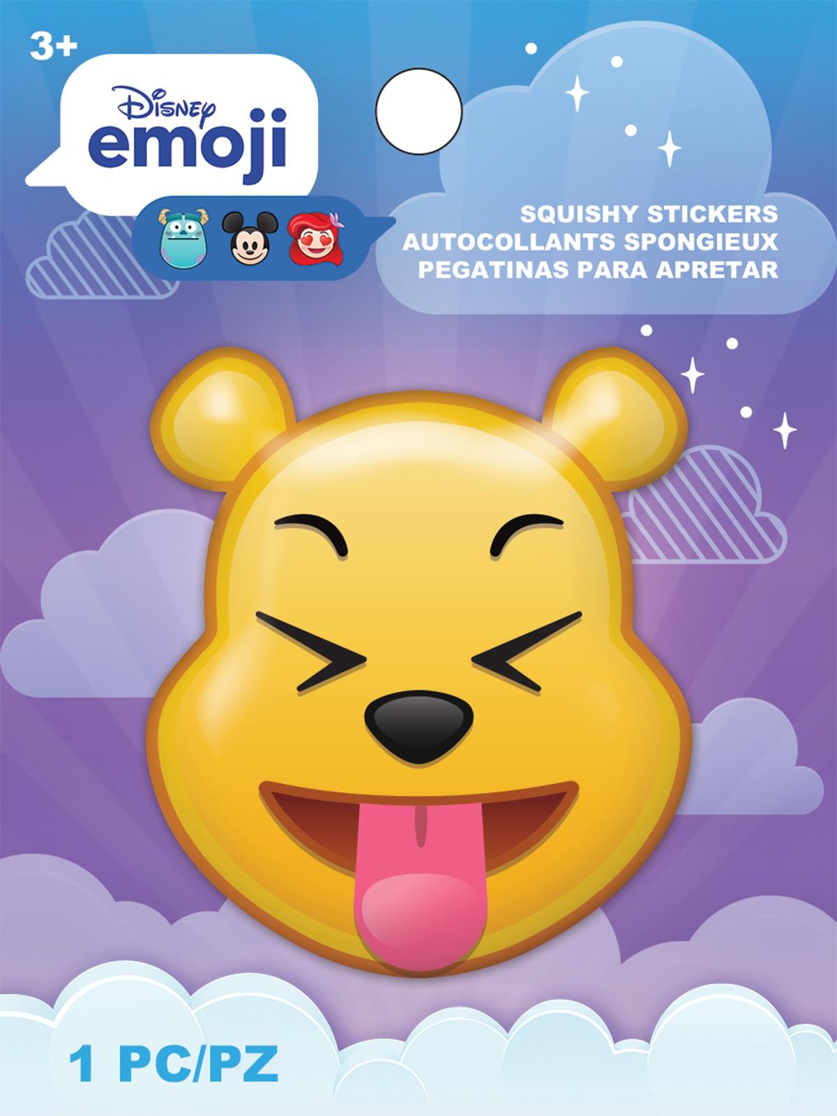 AM Squishy Emoji Stickers Pooh