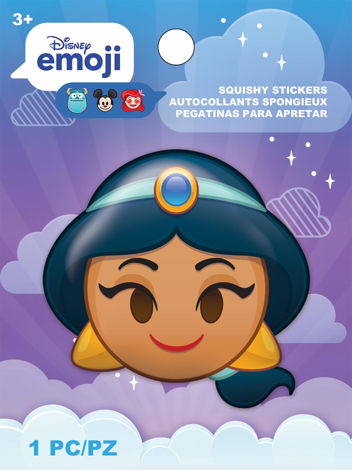 AM Squishy Emoji Stickers Jasmine
