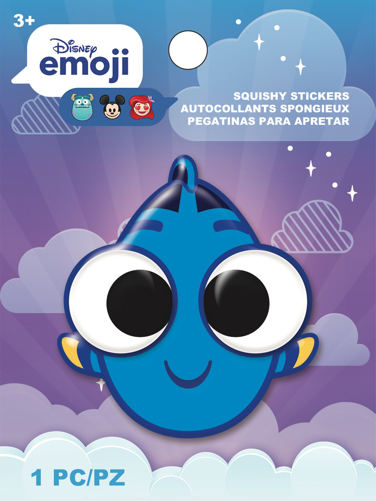 AM Squishy Emoji Stickers Dory